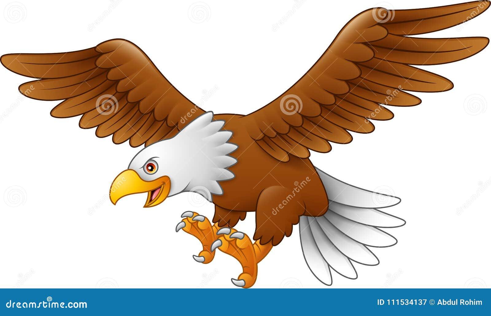 Cartoon Eagle Flying Stock Illustrations 963 Cartoon Eagle