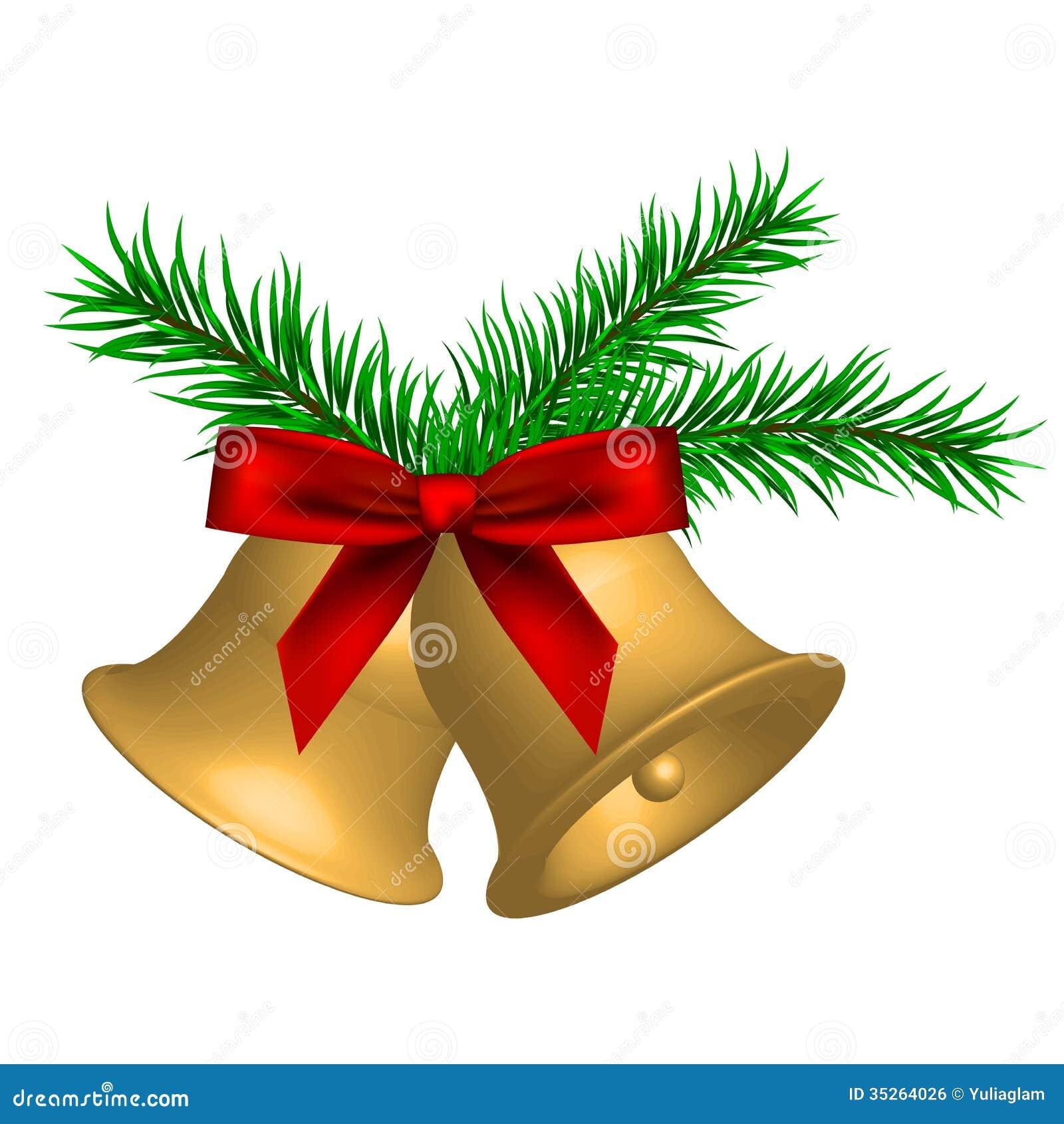 Illustration Of Christmas Bells Stock Vector