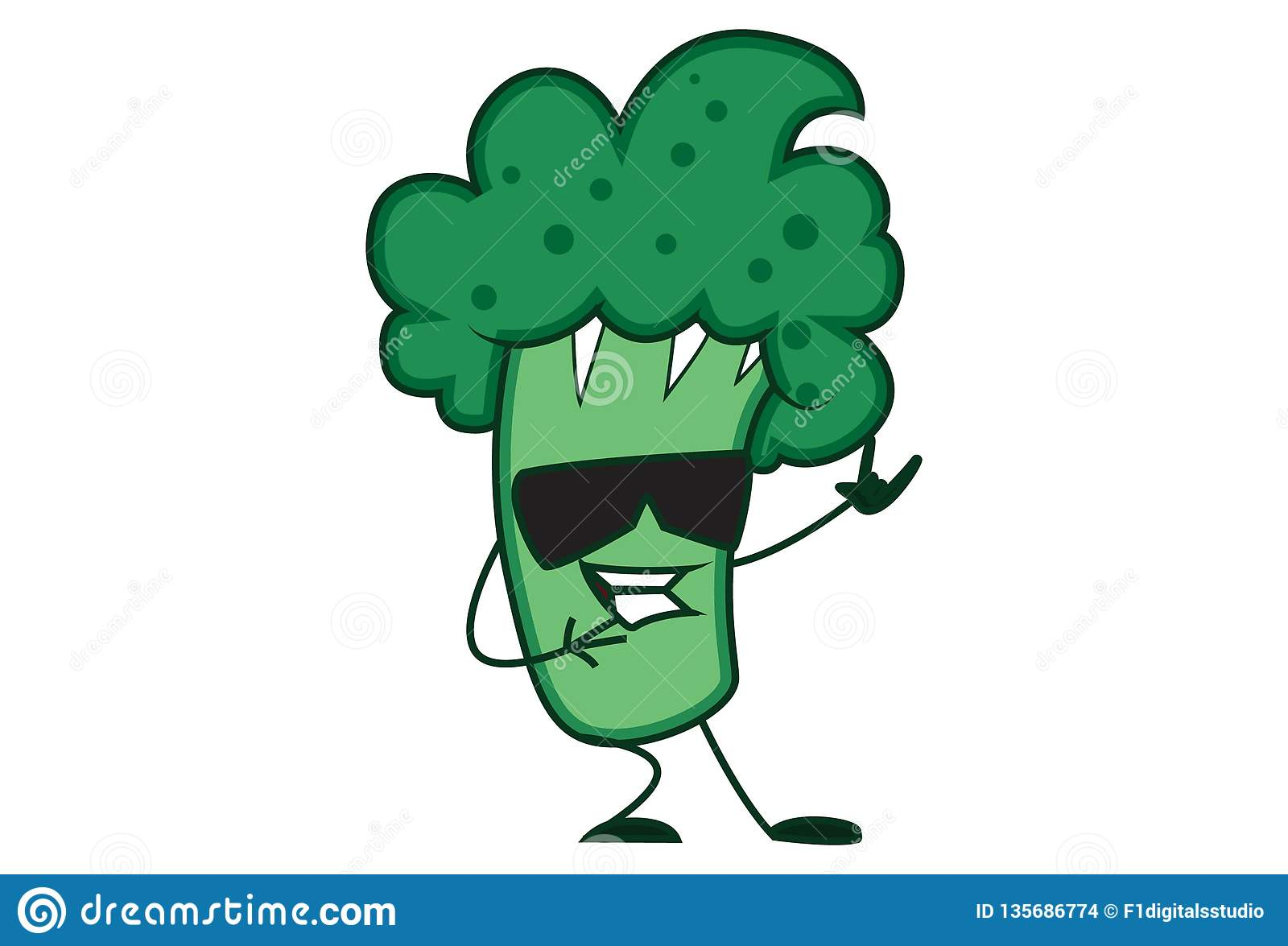 illustration of cute cartoon broccoli stock vector illustration of funny hands 135686774 https www dreamstime com illustration cute cartoon broccoli vector cartoon illustration cute broccoli wearing black glasses isolated white image135686774
