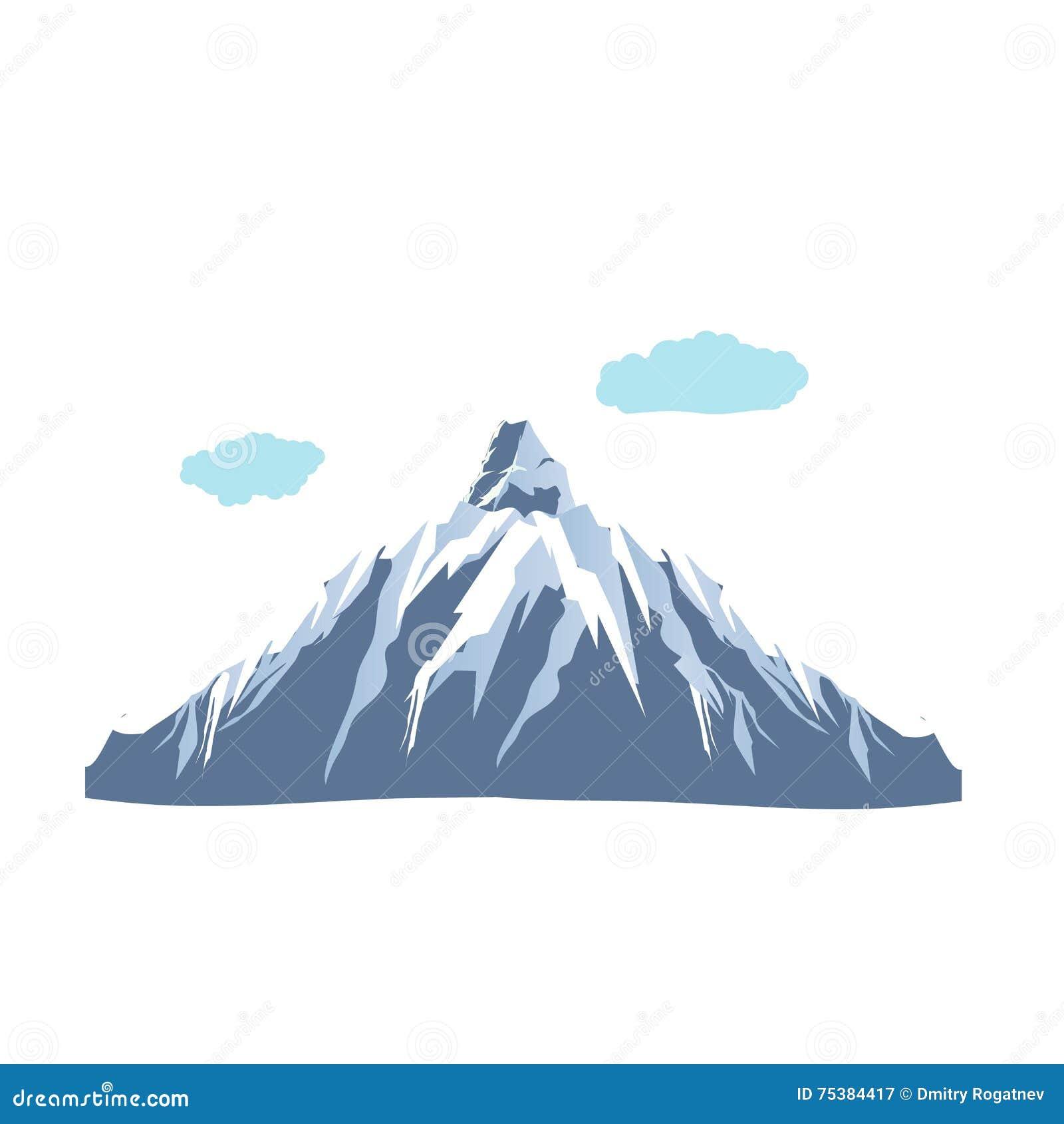 Illustration d icône de montagne