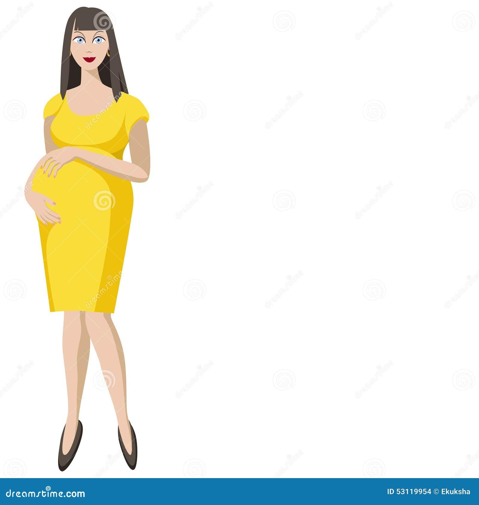 deb84106114f55 illustration-d-une-belle-jeune-femme-enceinte-dans-la-robe-jaune-53119954.jpg