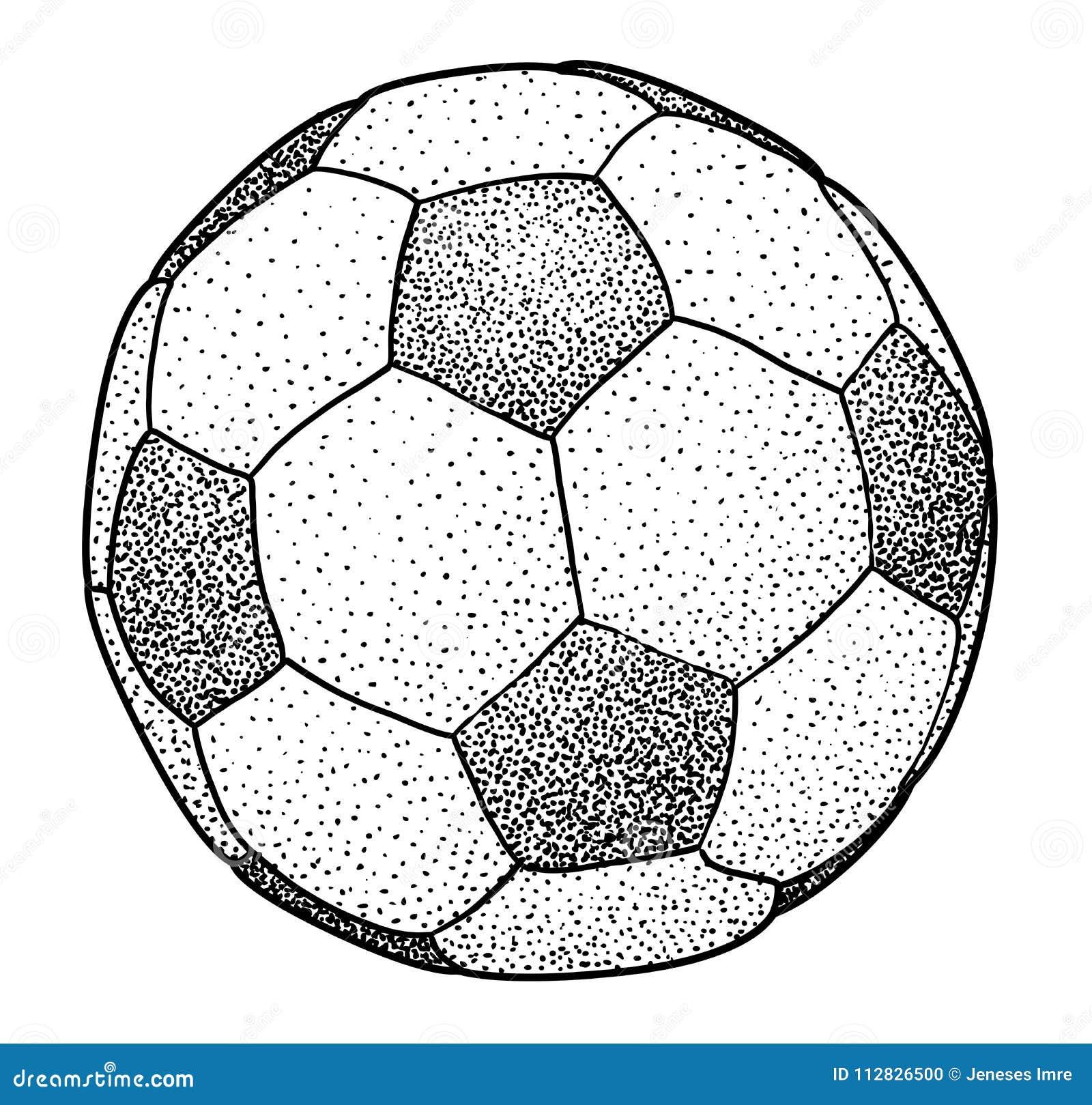 Ballon De Football Dessin
