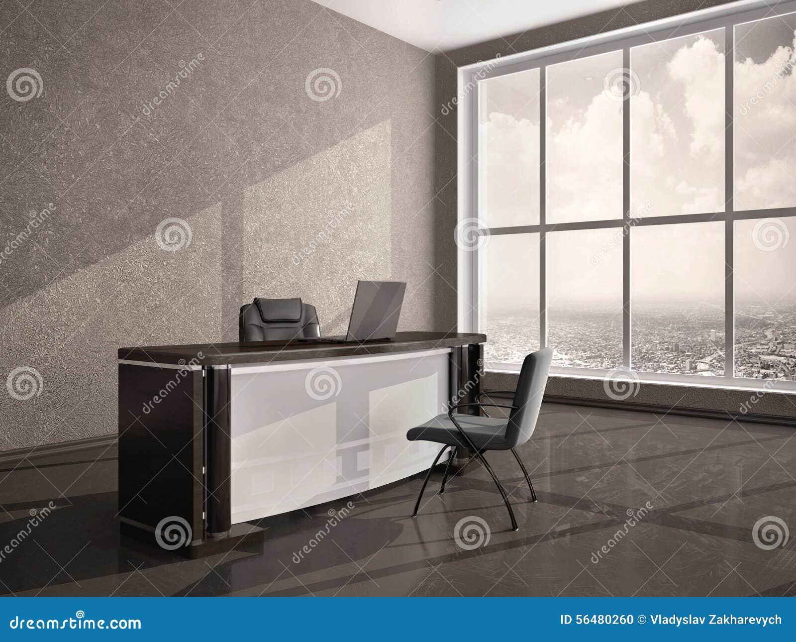 Illustration de bureau moderne