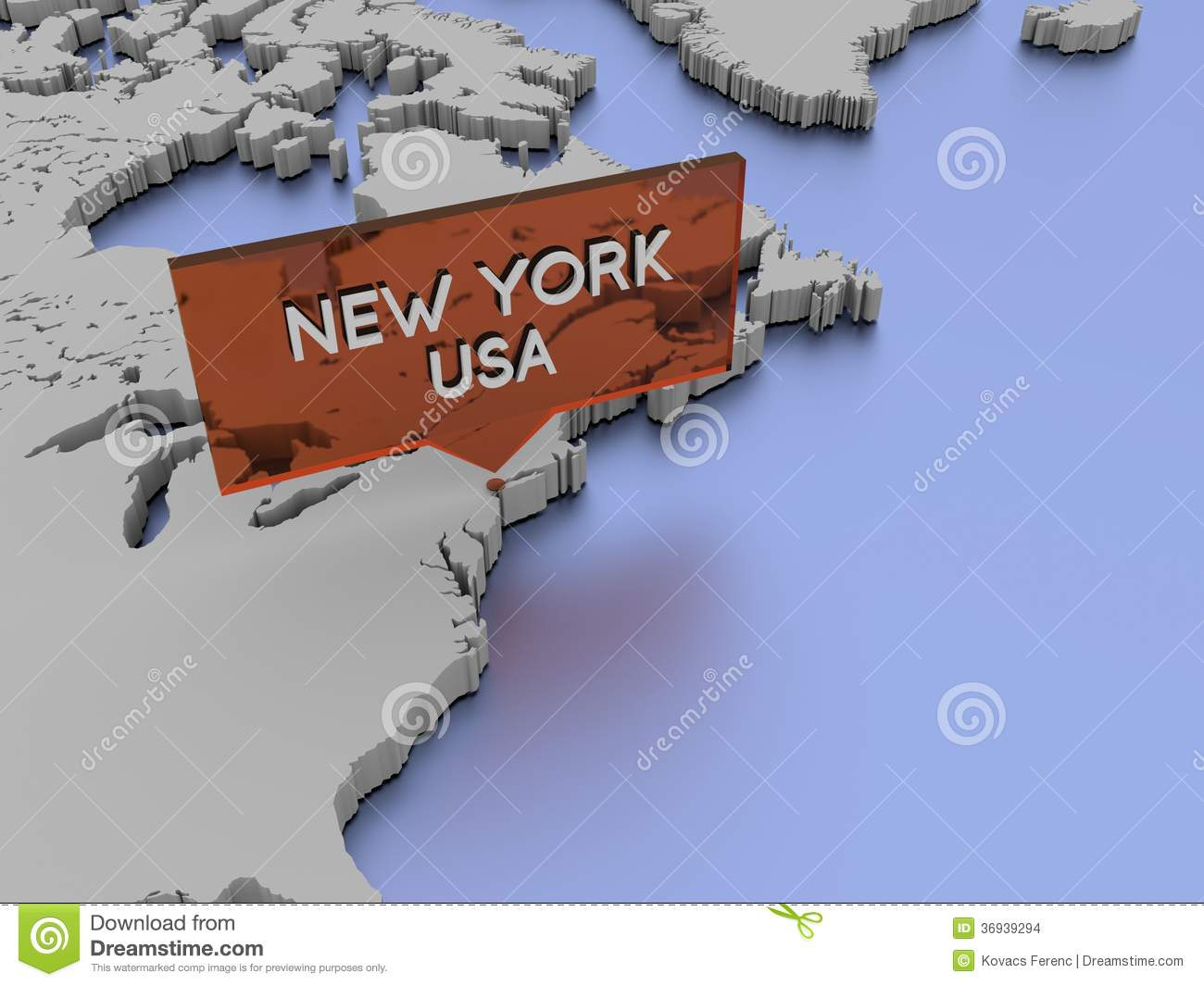 illustration de carte du monde 3d new york etats unis photo stock image 36939294. Black Bedroom Furniture Sets. Home Design Ideas