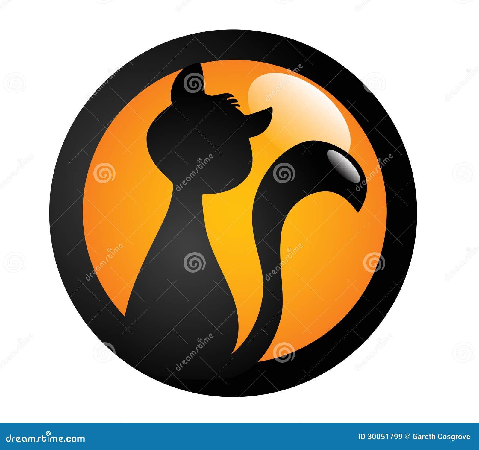 Signe de chat noir
