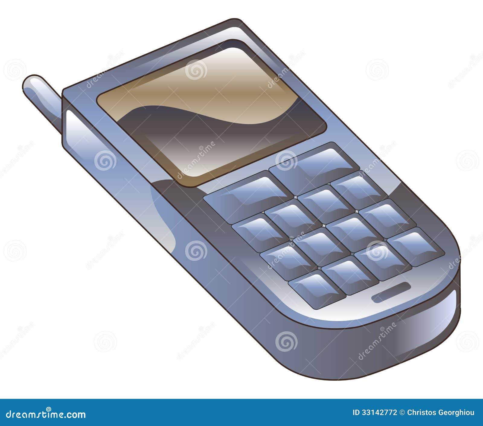 Illustration De Clipart D'icône De Téléphone Portable Photographie ...