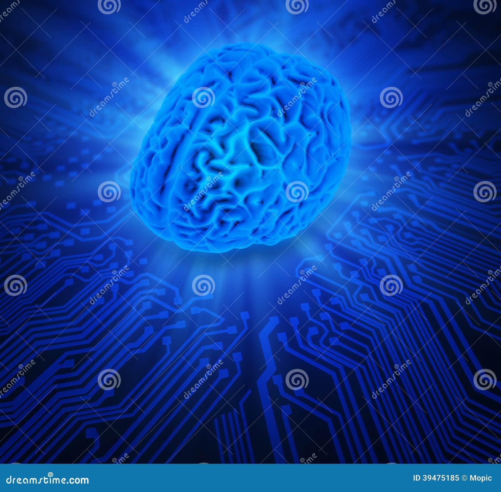 Illustration de concept d intelligence artificielle