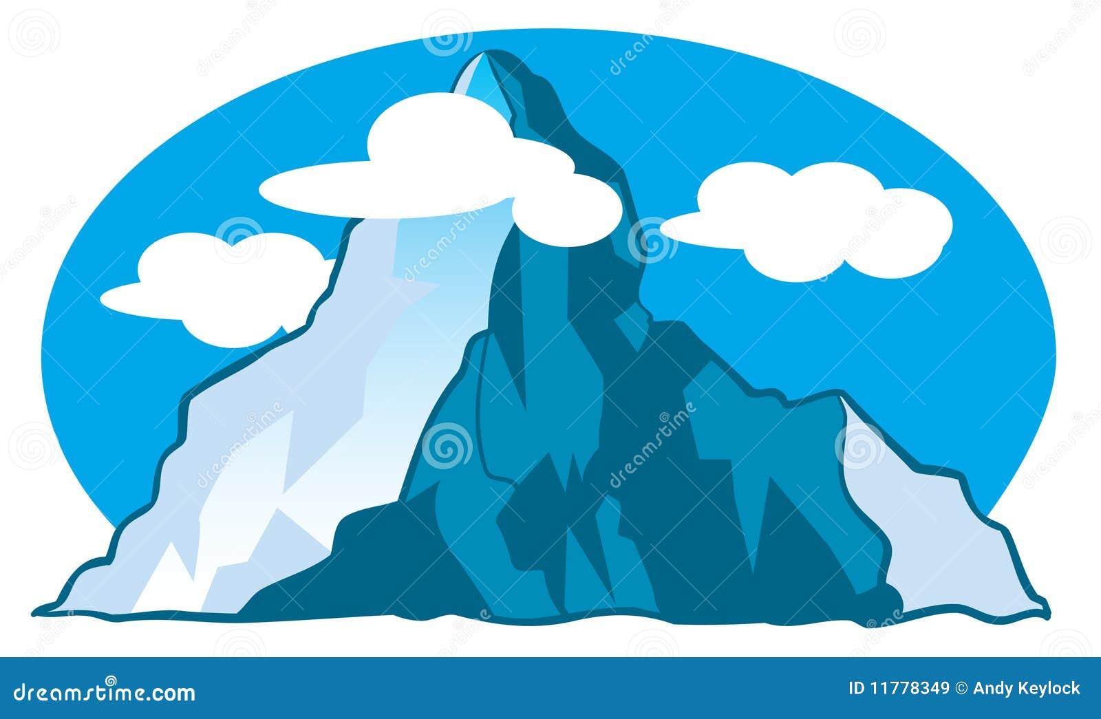 illustration de dessin anim de montagne images libres de droits image 11778349. Black Bedroom Furniture Sets. Home Design Ideas