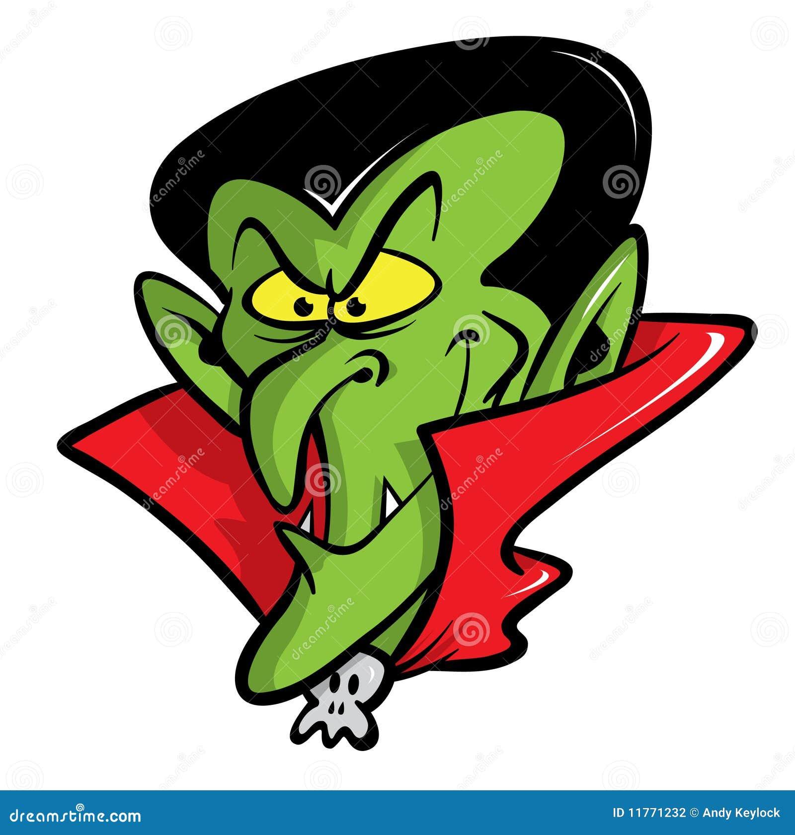 Illustration de dessin anim de vampire de dracula - Dessins de vampires ...
