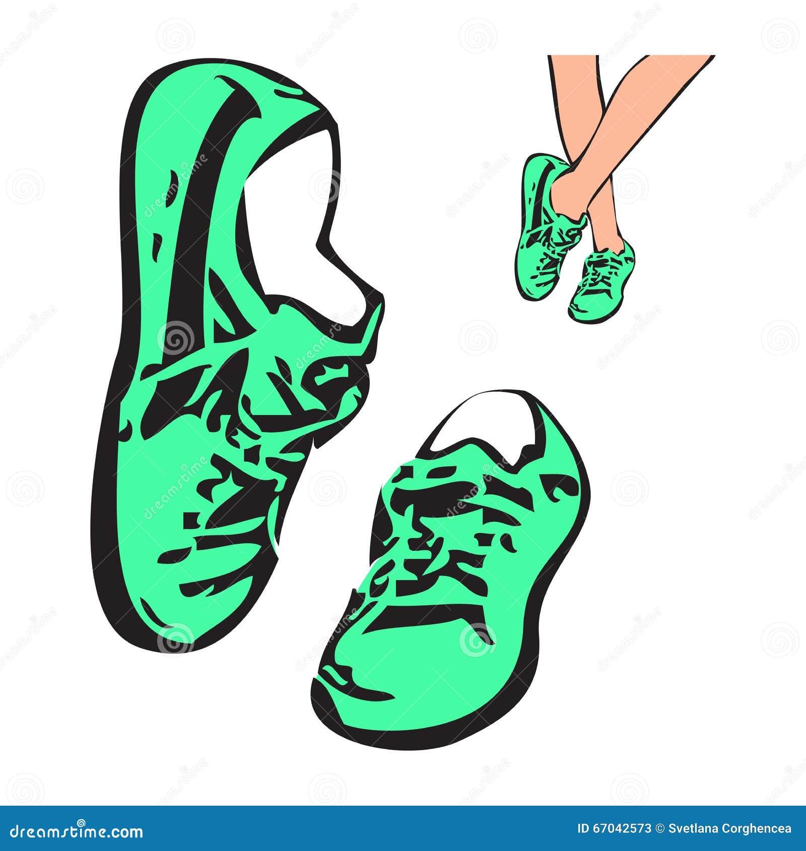 Illustration Dessin Croquis De D'espadrilles Chaussures qBSgrFwqn