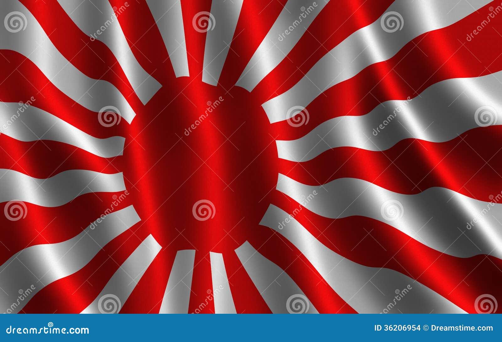 illustration de drapeau de soleil levant japon images. Black Bedroom Furniture Sets. Home Design Ideas