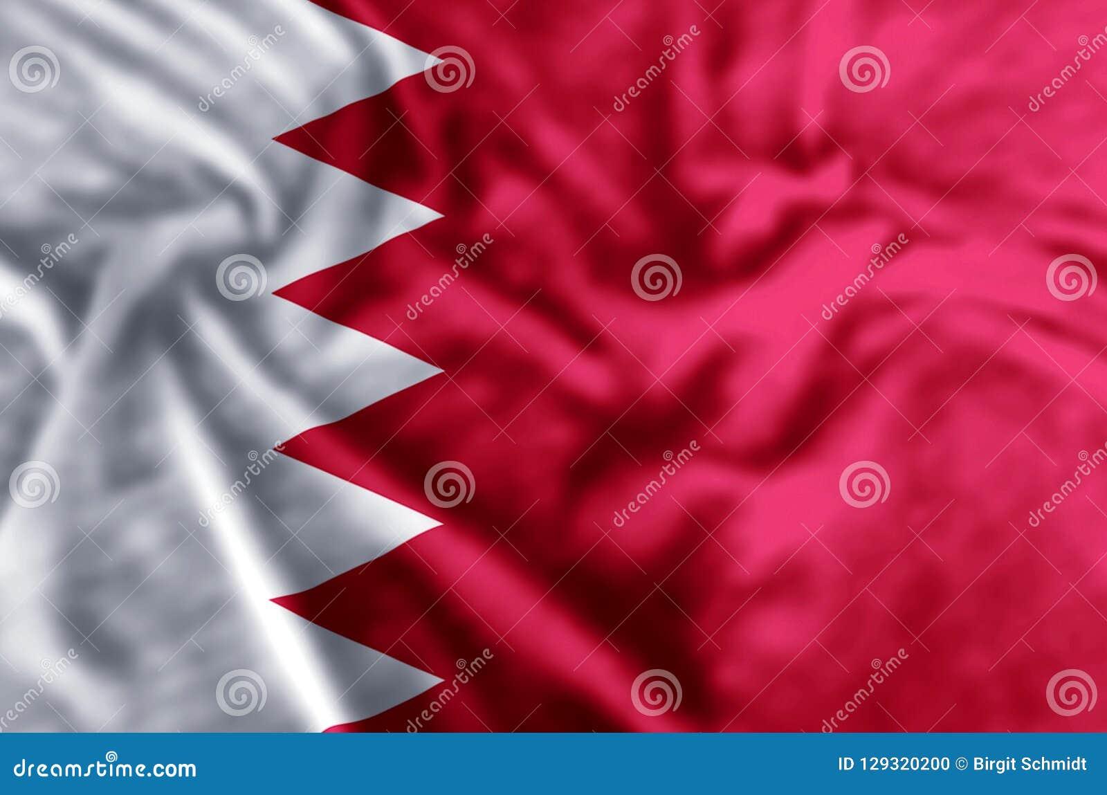 Illustration de drapeau du Bahrain