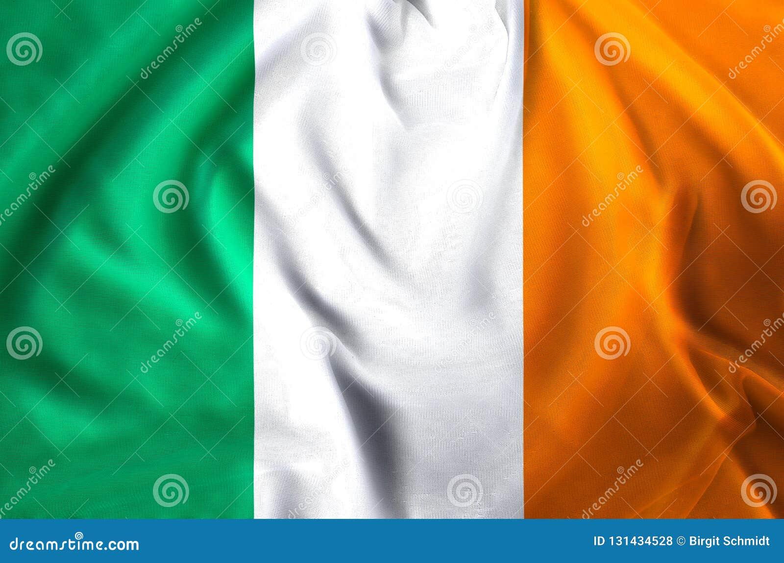 Illustration de drapeau de l Irlande