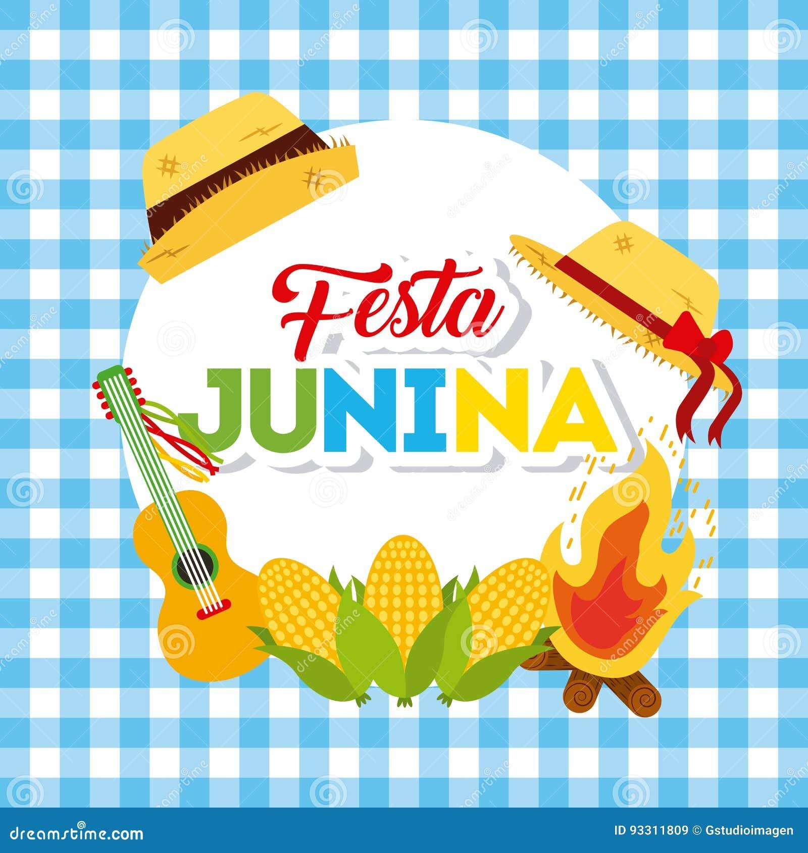 Illustration de juin de festivité