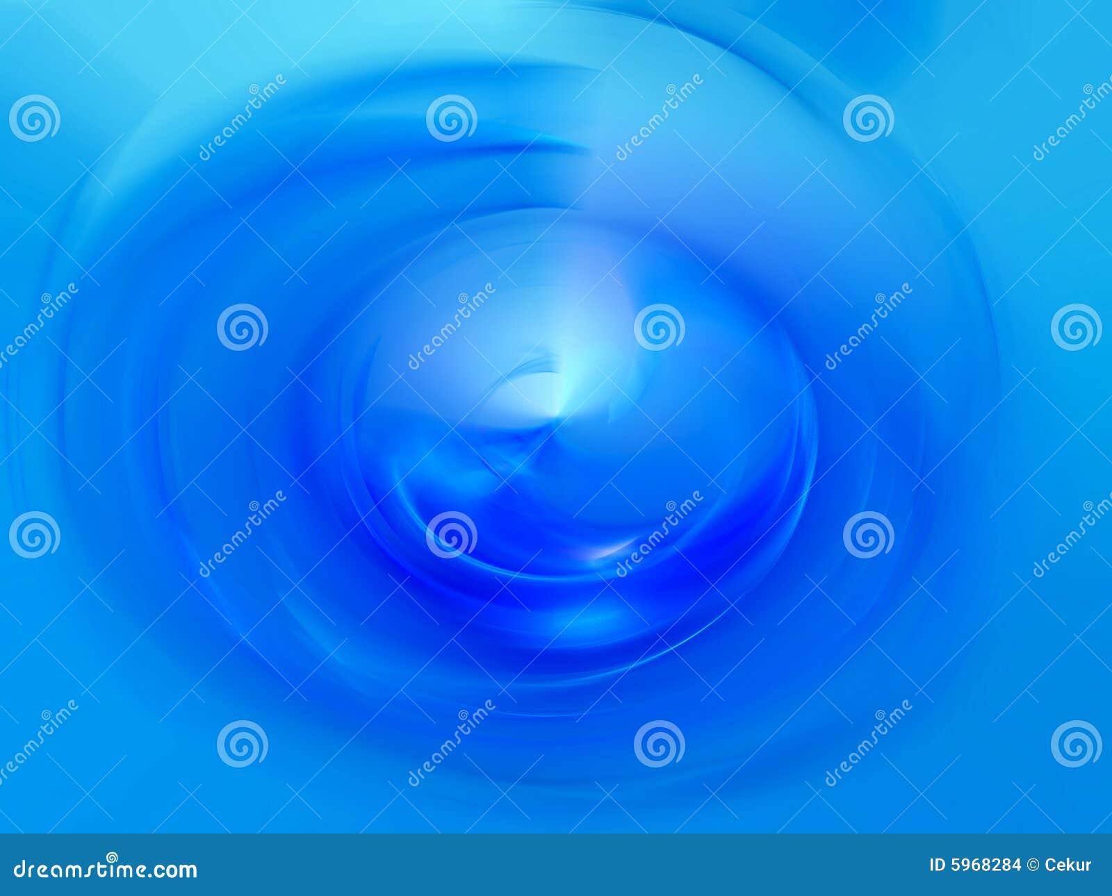 Illustration de l eau bleue