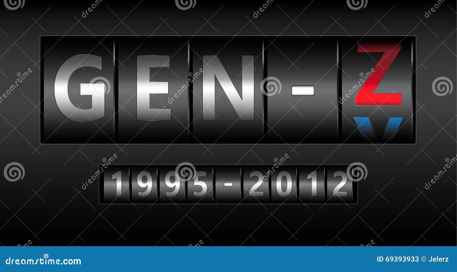 Illustration de la GEN Z