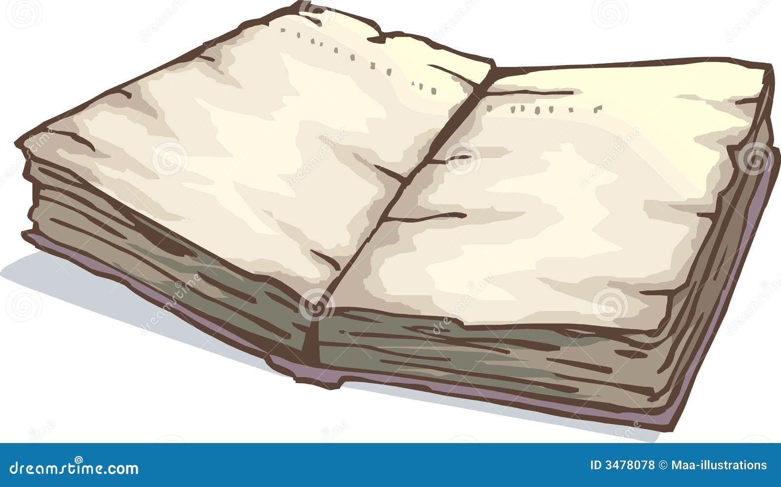 Illustration De Livre Divin Illustration De Vecteur