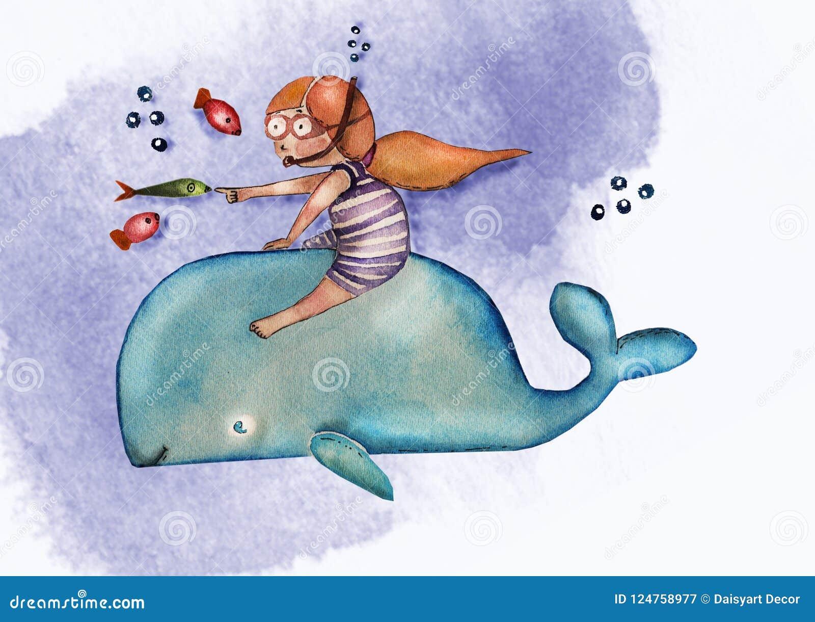 Illustration De Livre Du S D Enfants Fille Mignonne D