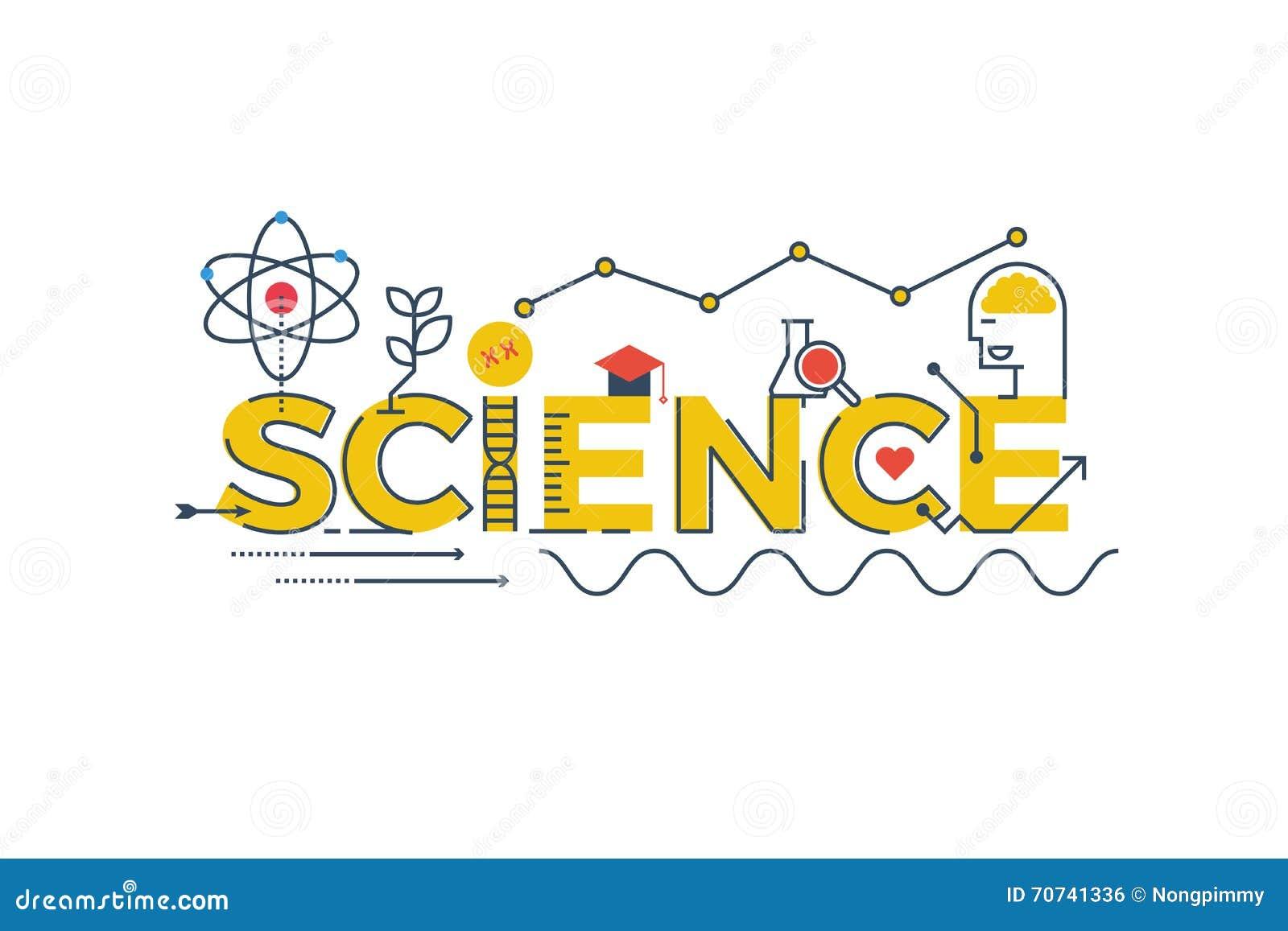 Illustration de mot de la science illustration de vecteur for Mot architecture
