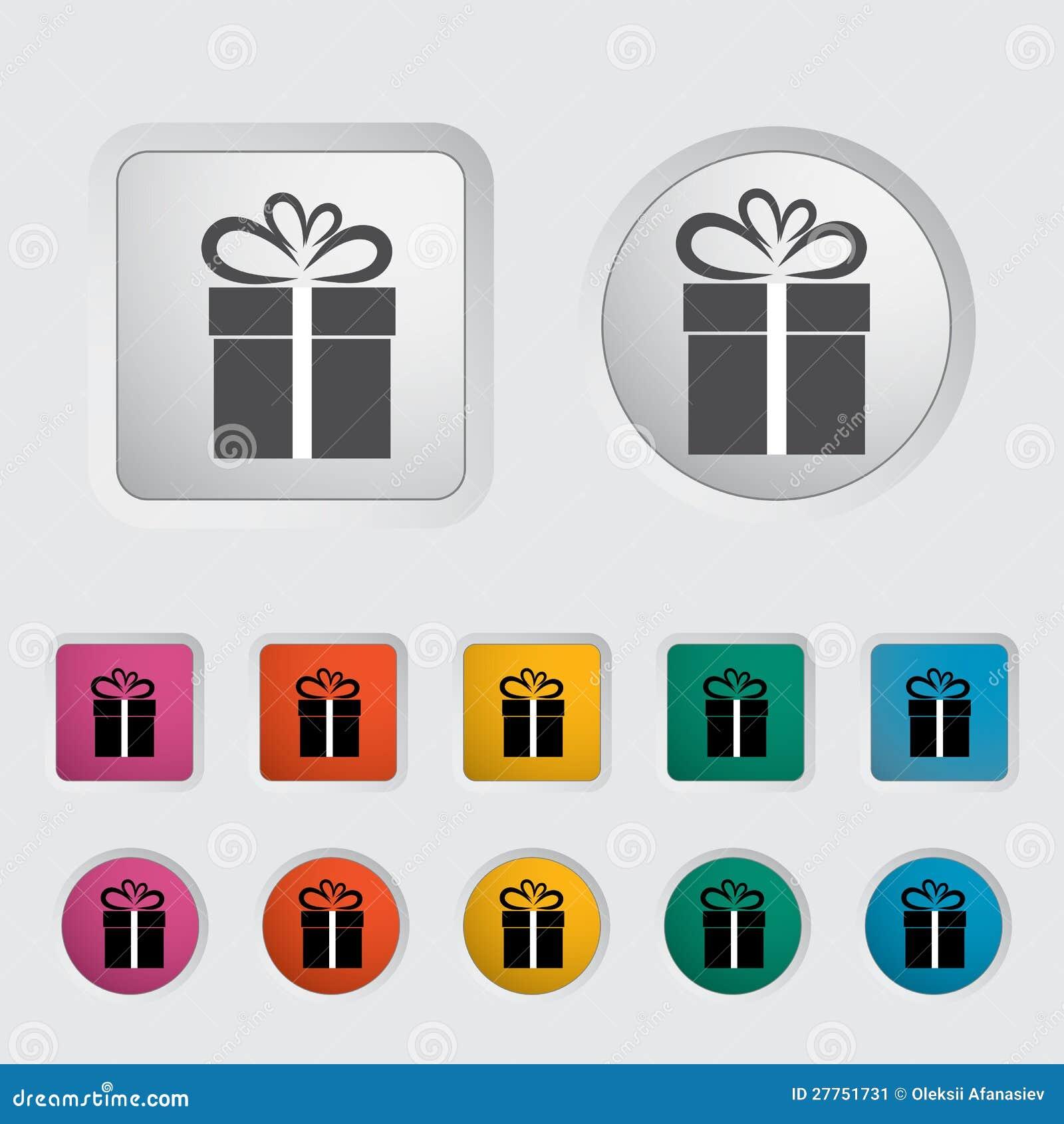 Illustration de Noël avec le cadre de cadeau 3.