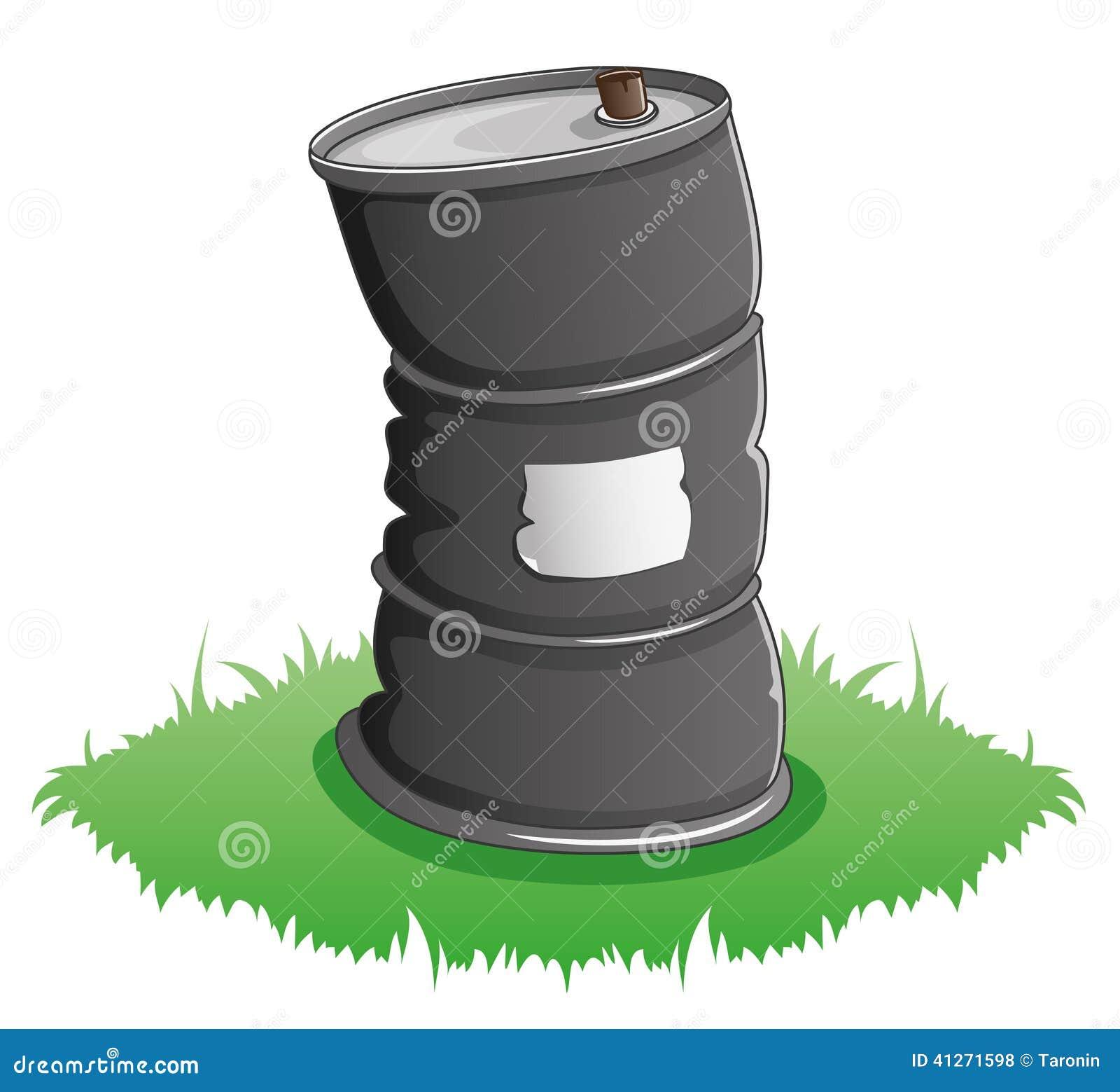 Illustration de vecteur baril