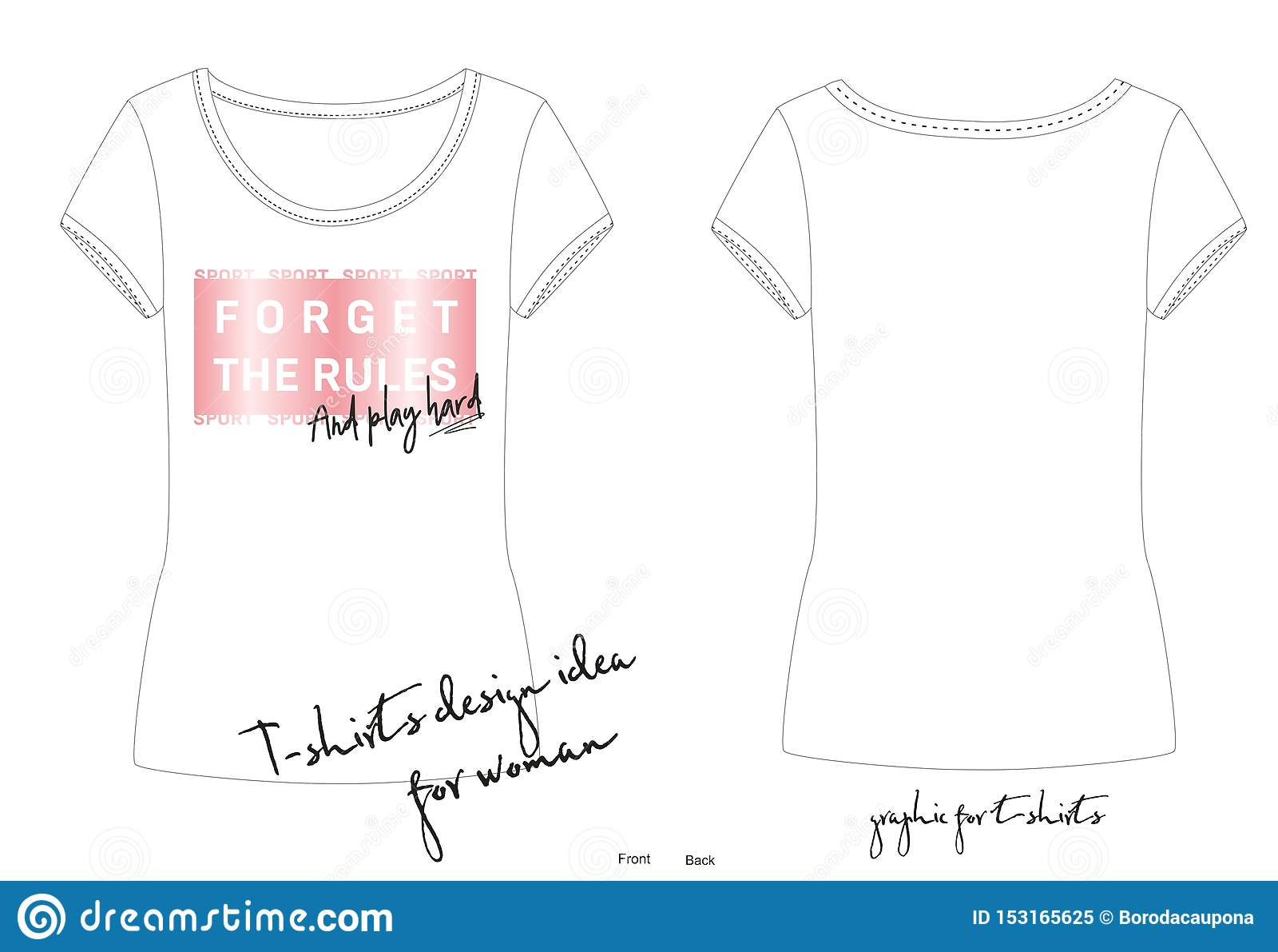 Illustration de vecteur de copie à la mode de mode de résumé pour l usage de sport, conception de T-shirt, empreinte rose métalli