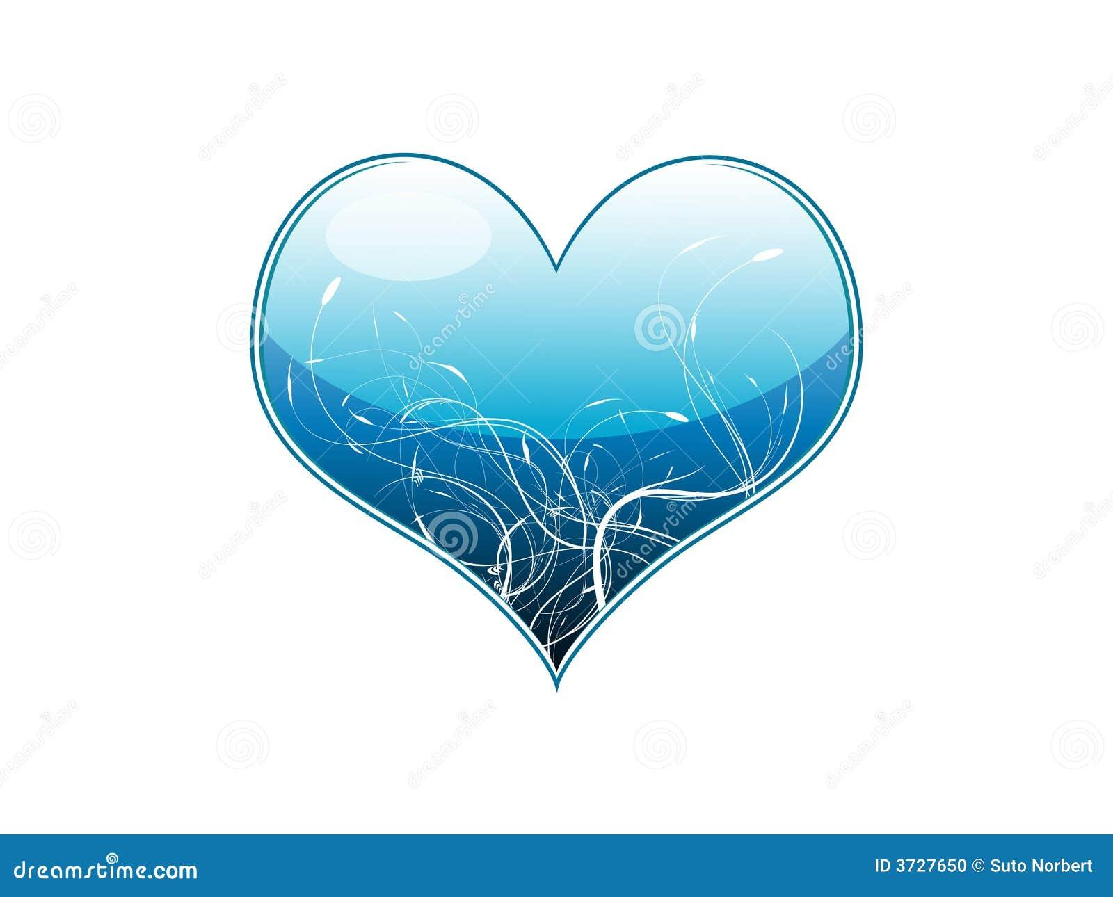 Illustration de vecteur d un bleu