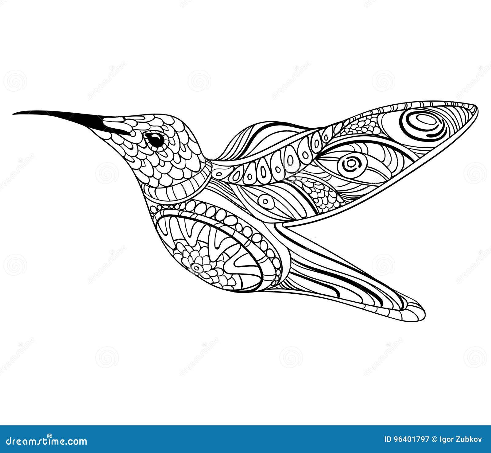 Dessin Oiseaux Stylisés