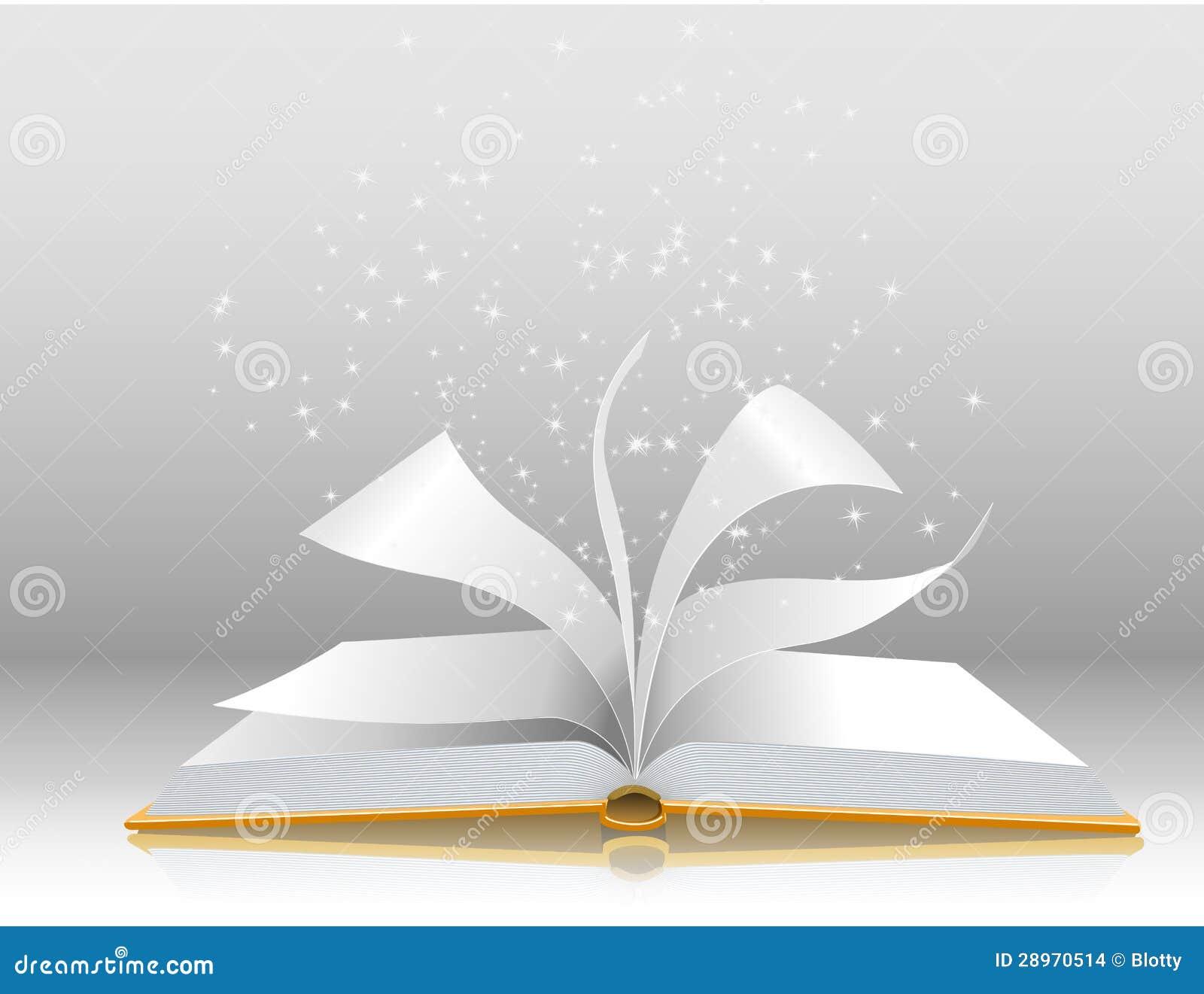 Illustration De Vecteur D Un Livre Ouvert Illustration De