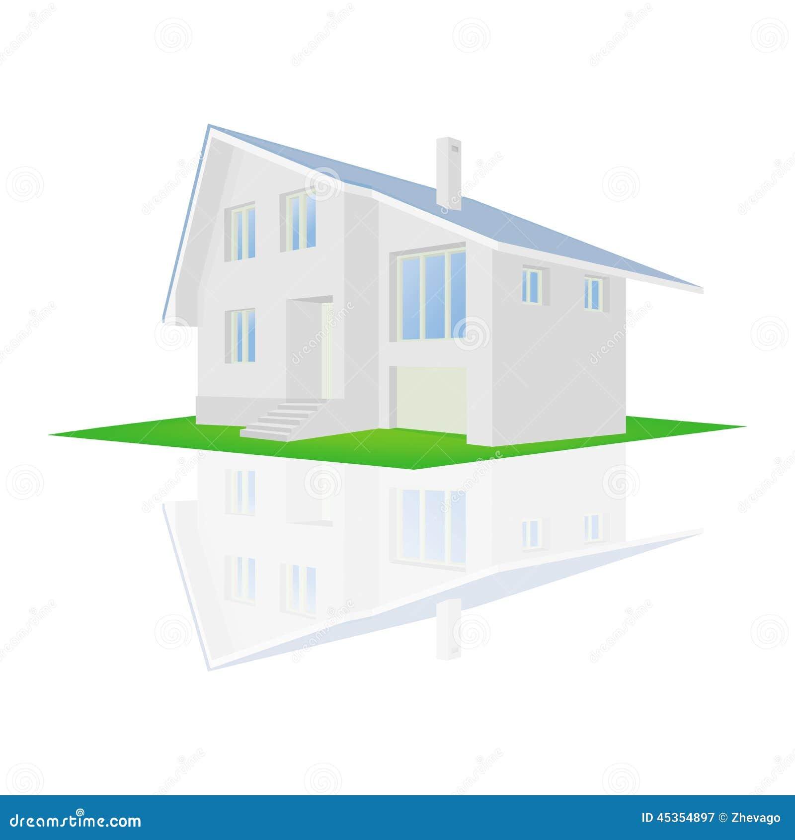 Illustration de vecteur d une maison