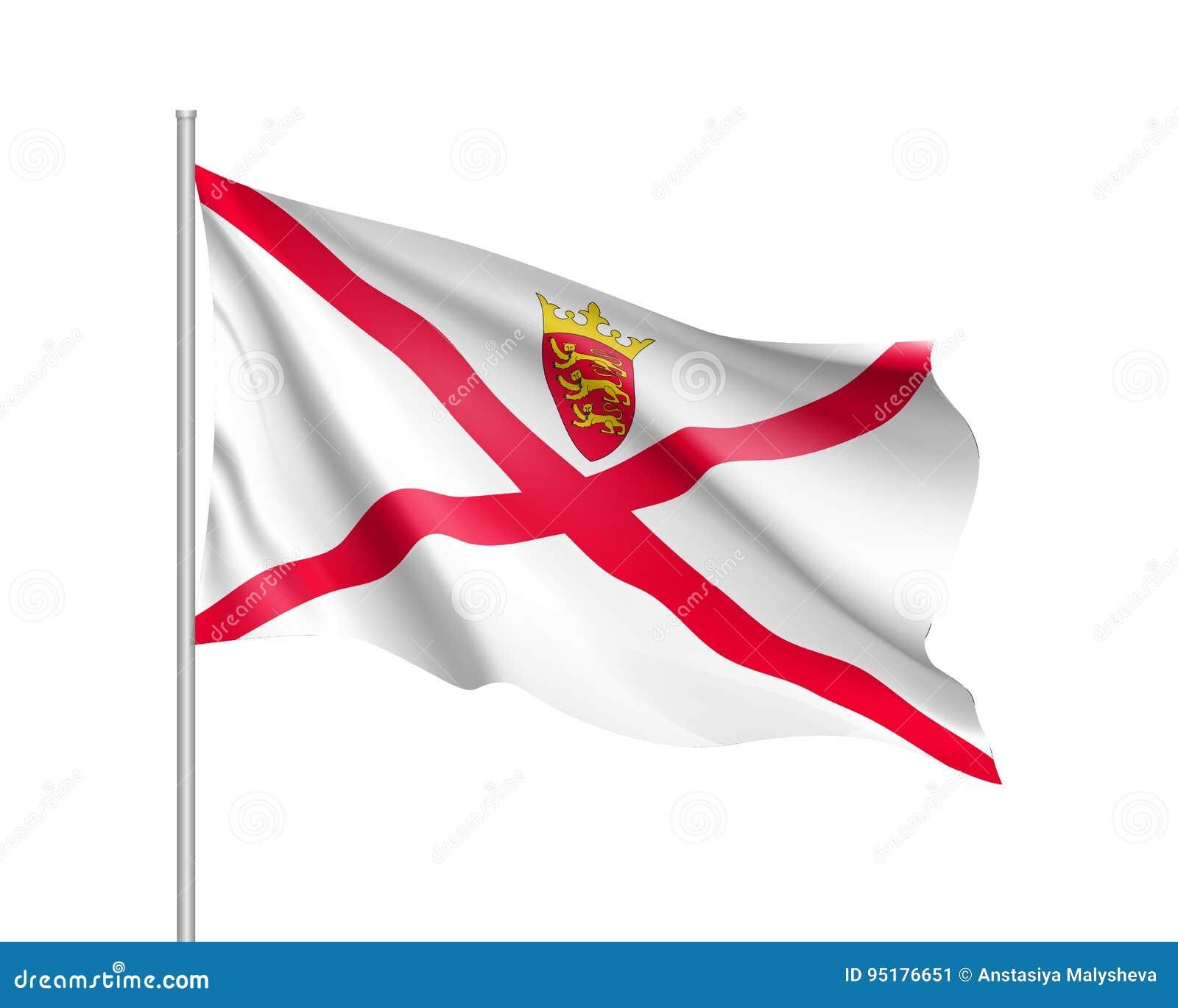 Illustration de vecteur de drapeau national de débardeur