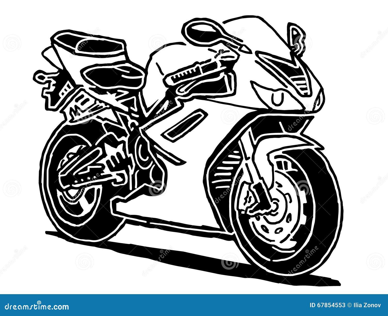 illustration de vecteur de moto de sport illustration de vecteur illustration du rapide moto. Black Bedroom Furniture Sets. Home Design Ideas