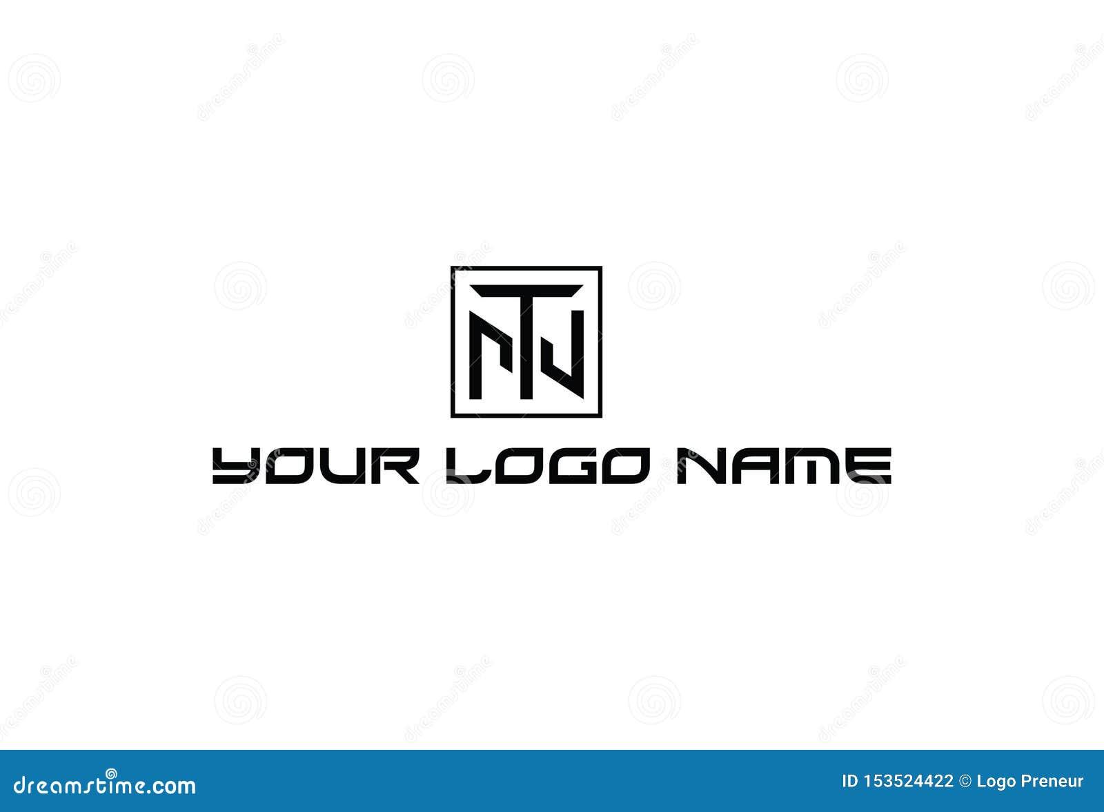 Illustration de vecteur de logo de l alphabet T