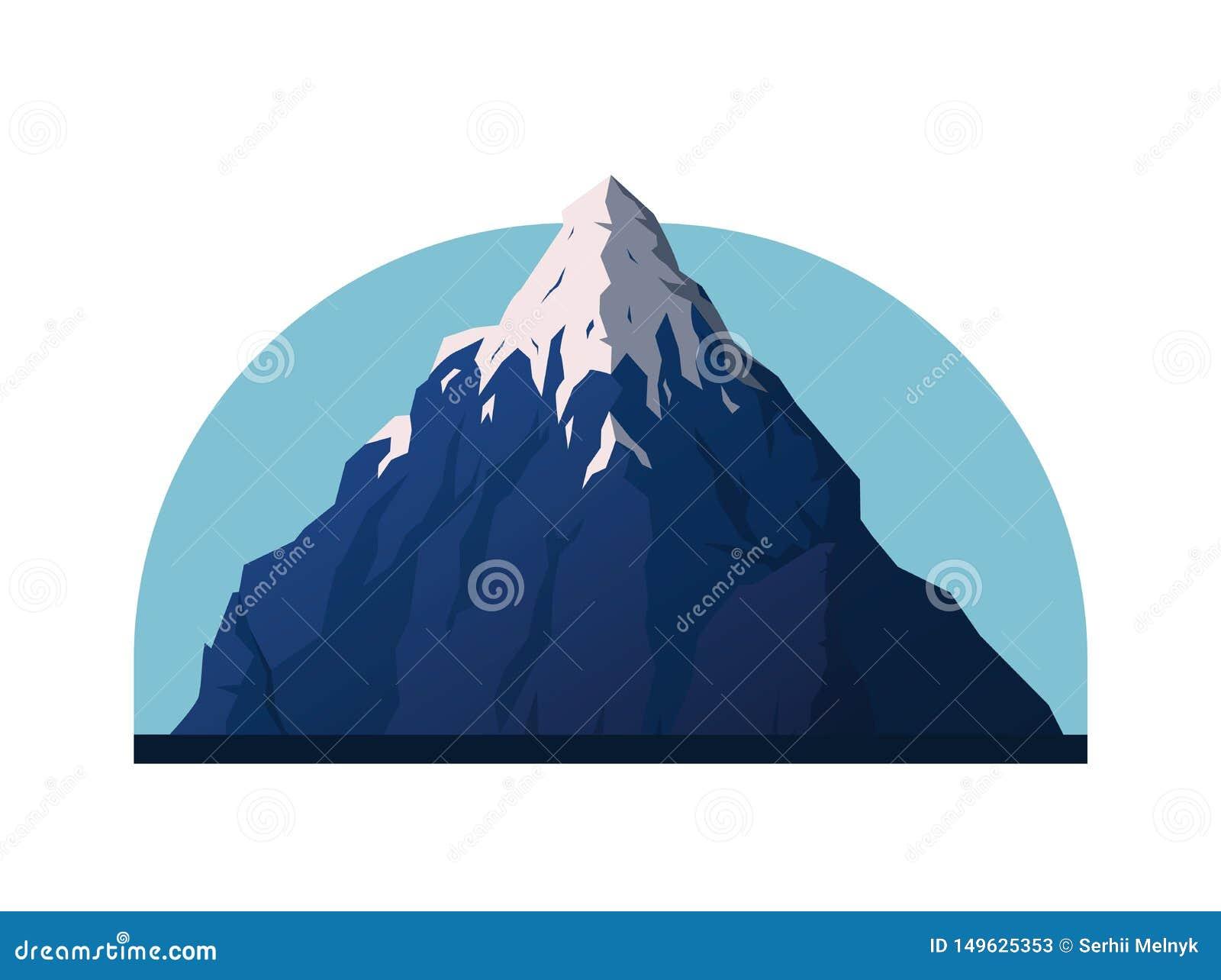 Illustration de vecteur de montagne