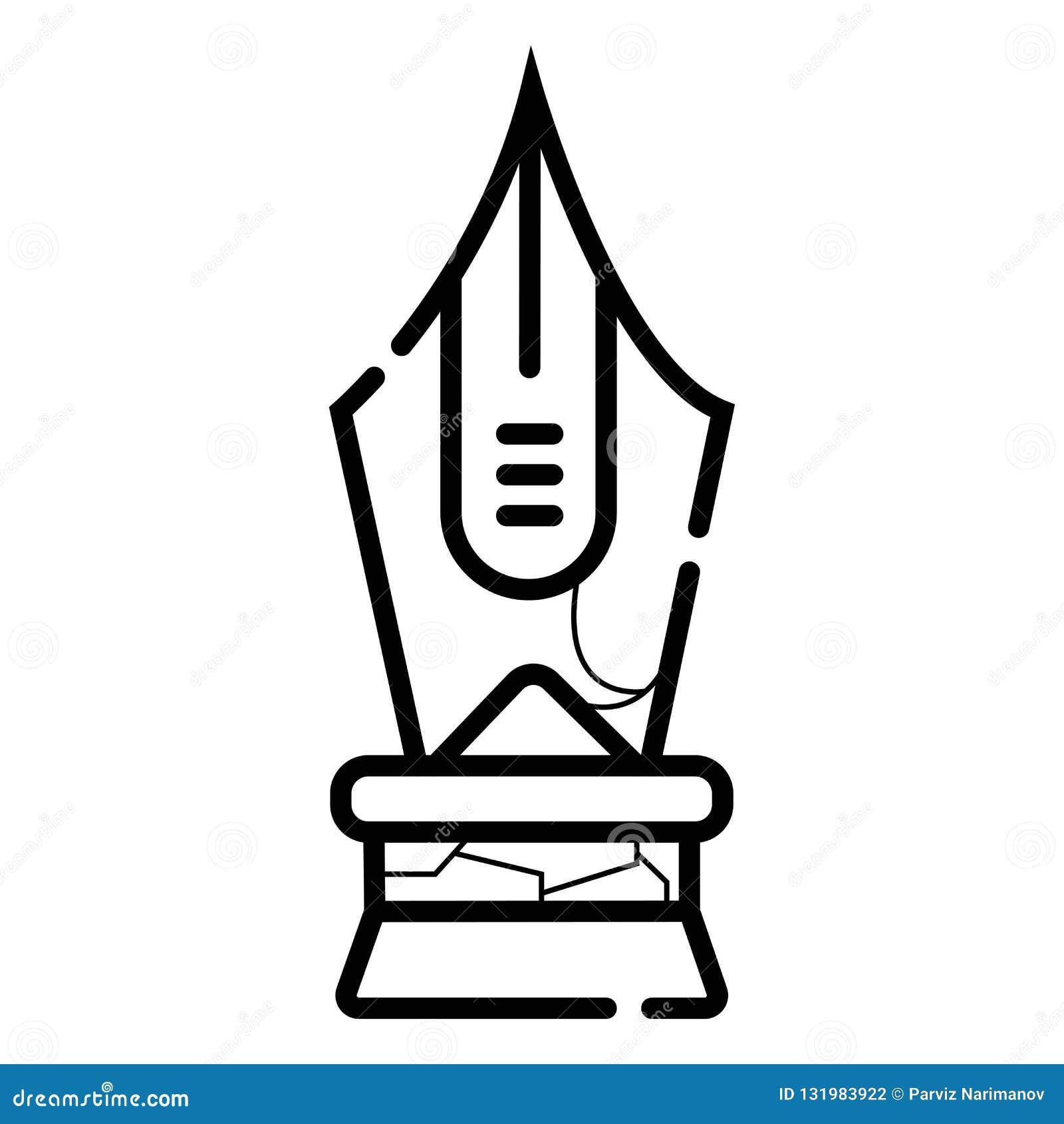 Illustration de vecteur de stylo