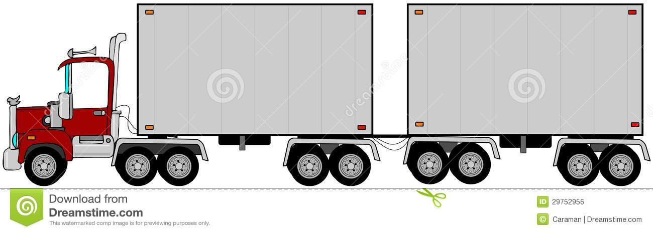 Free double penetration trailers