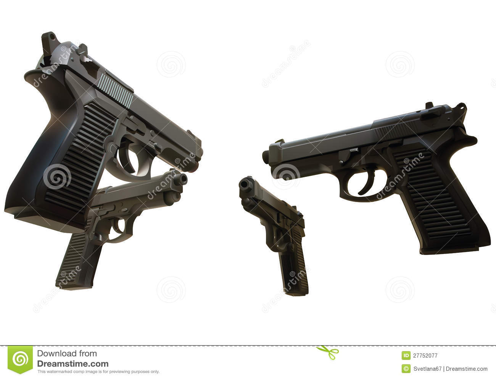 Illustration des canons