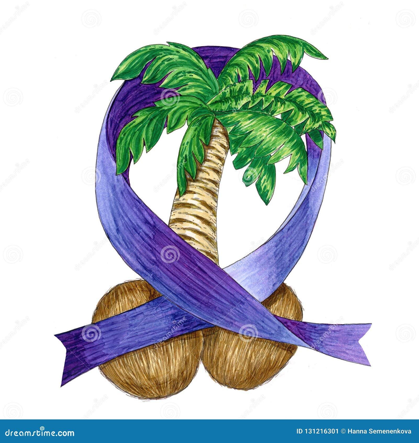 Illustration des Hodenkrebses