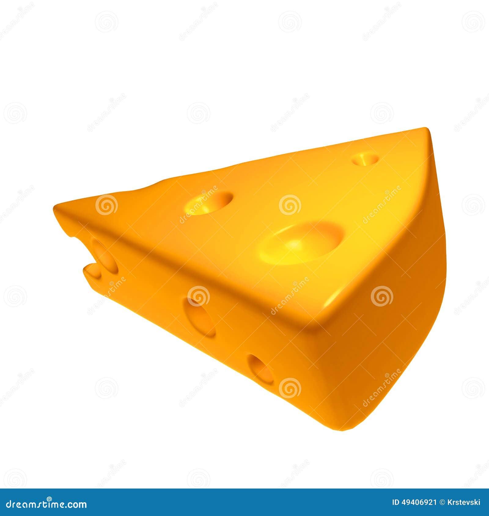 Download Illustration des Käses 3d stock abbildung. Illustration von produkt - 49406921