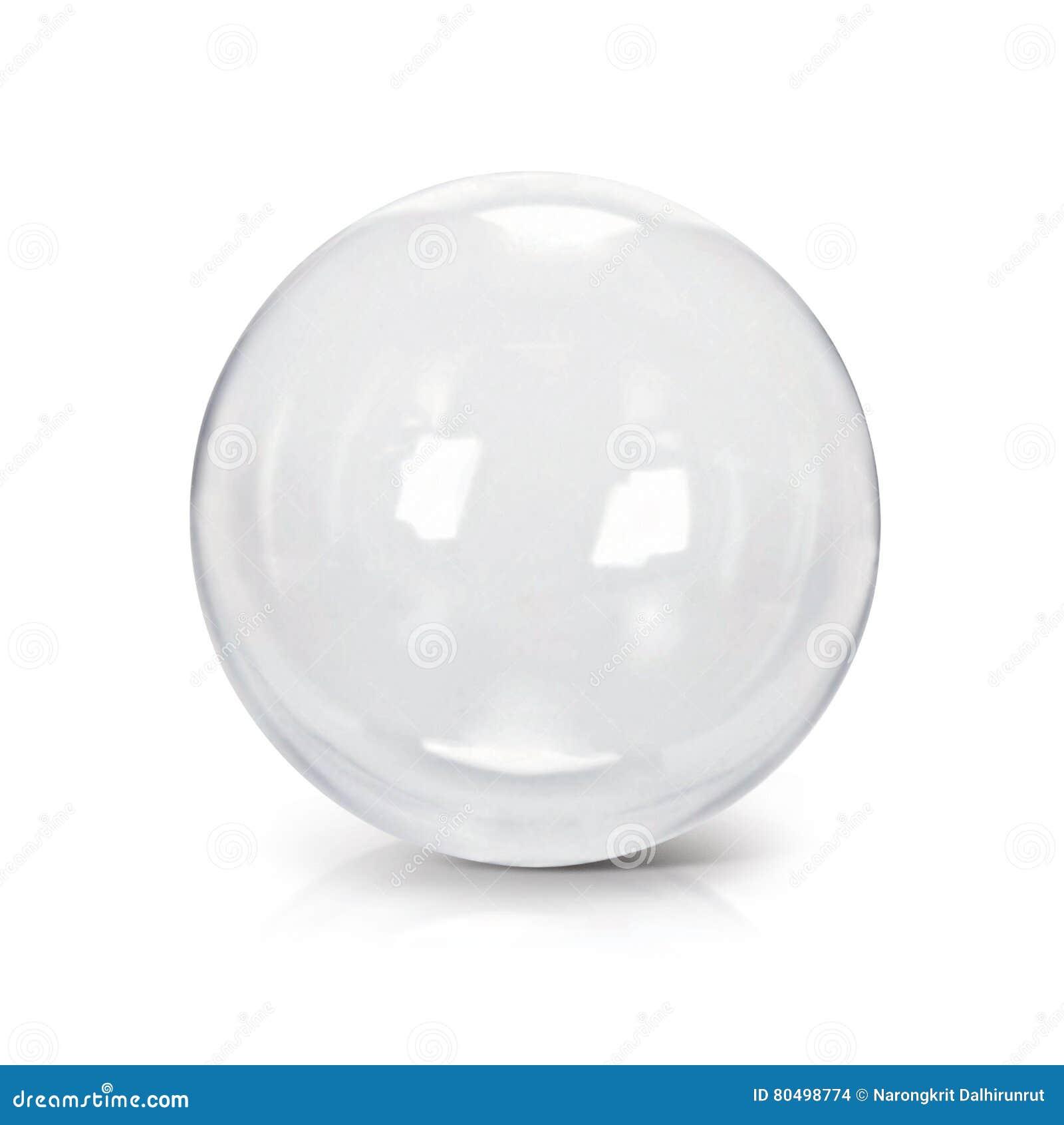 Illustration des Klarglasballs 3D
