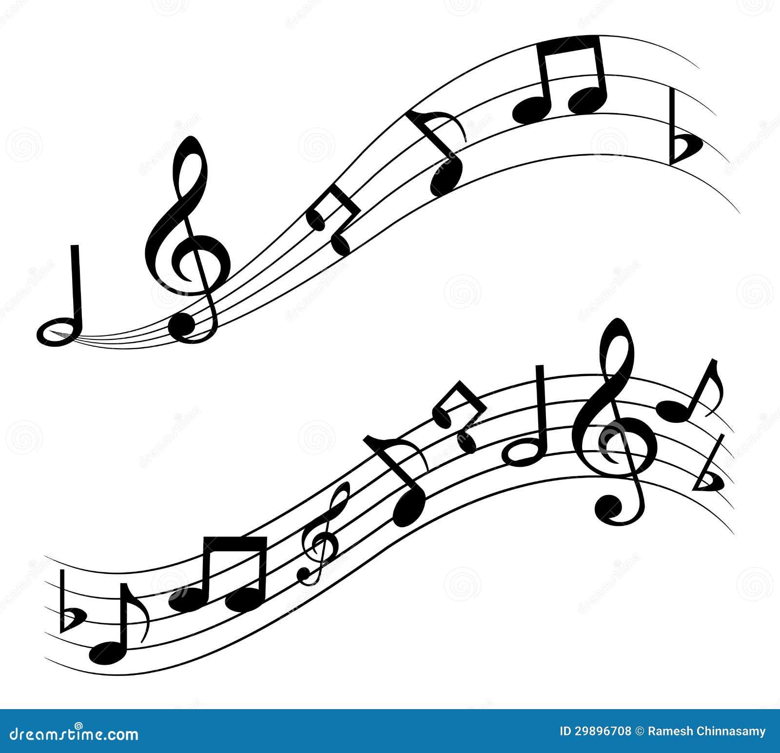 Notes De Musique Illustration De Vecteur Illustration Du Classique