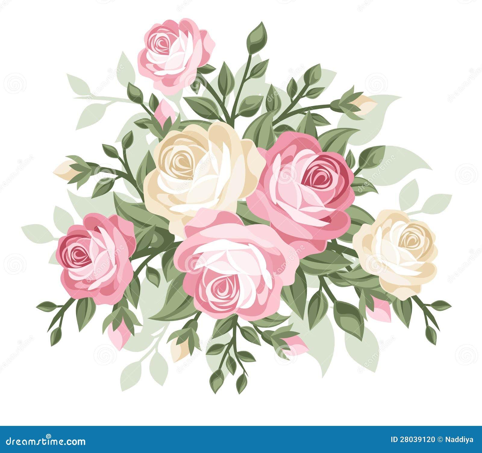 illustration de rose
