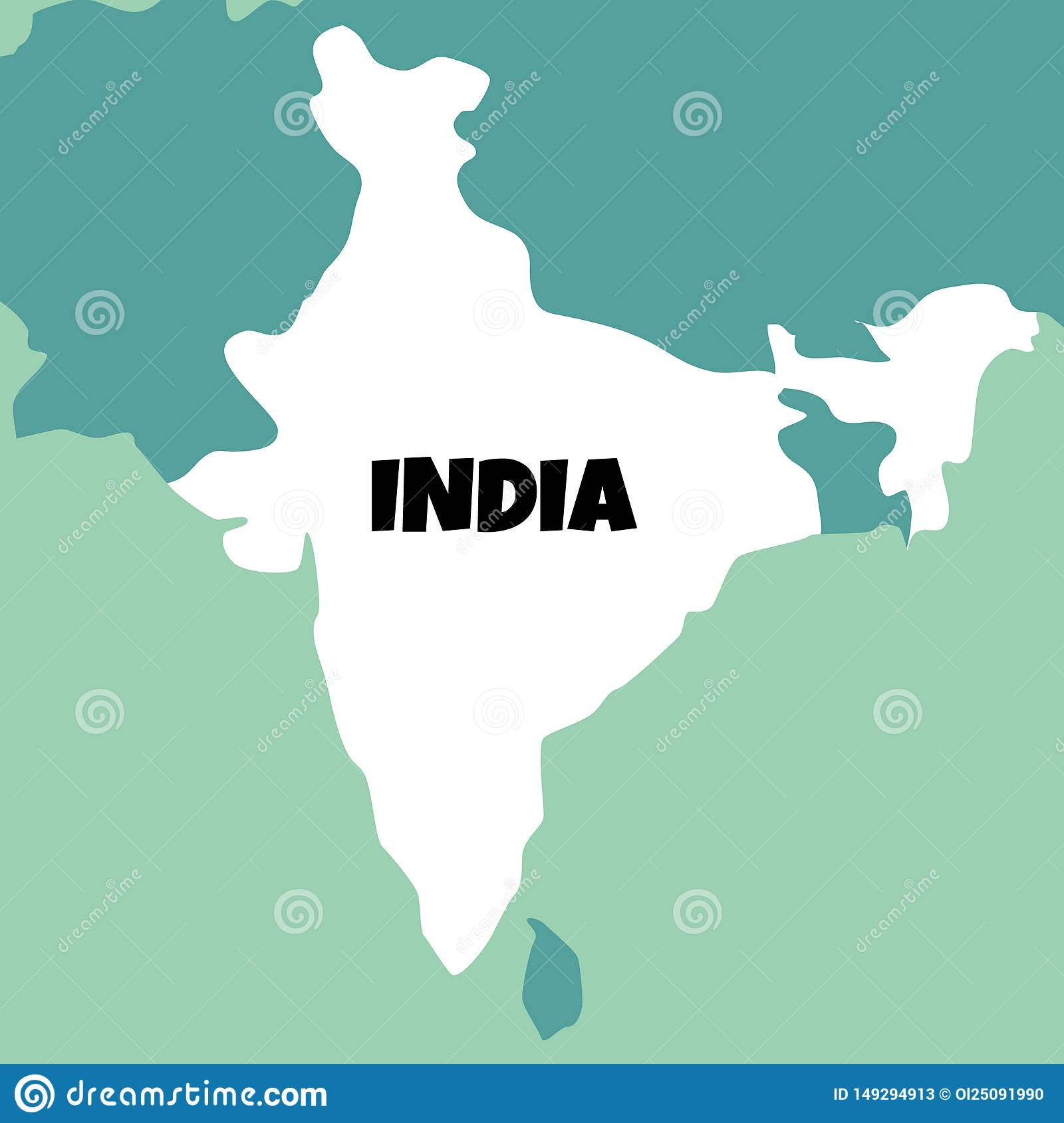 Illustration Of Detailed Map Of India Stock Illustration ... on topographic maps, download icons, download london tube map, download business maps, download bing maps, online maps,