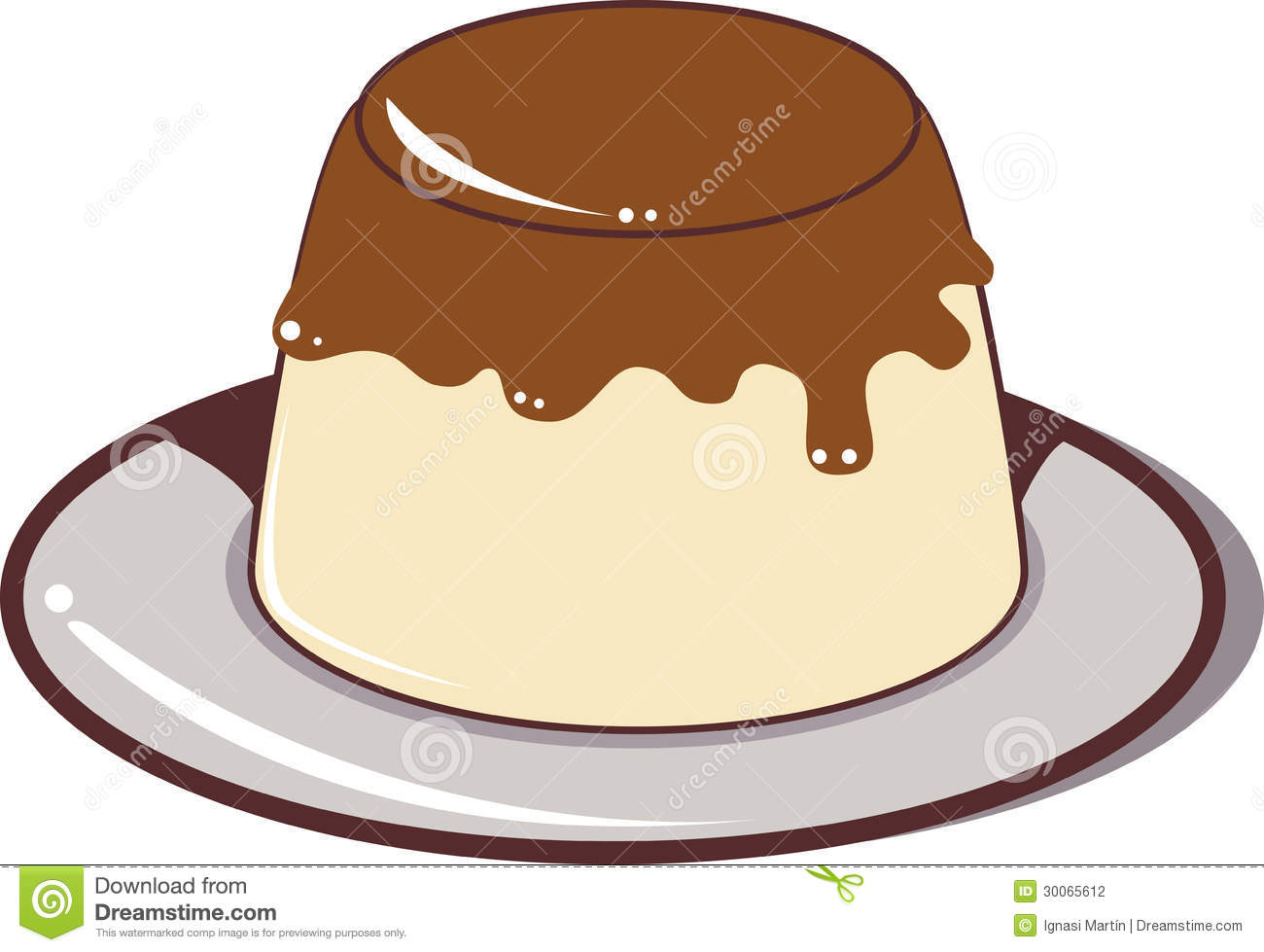Pudding Stock Photography - Image: 30065612