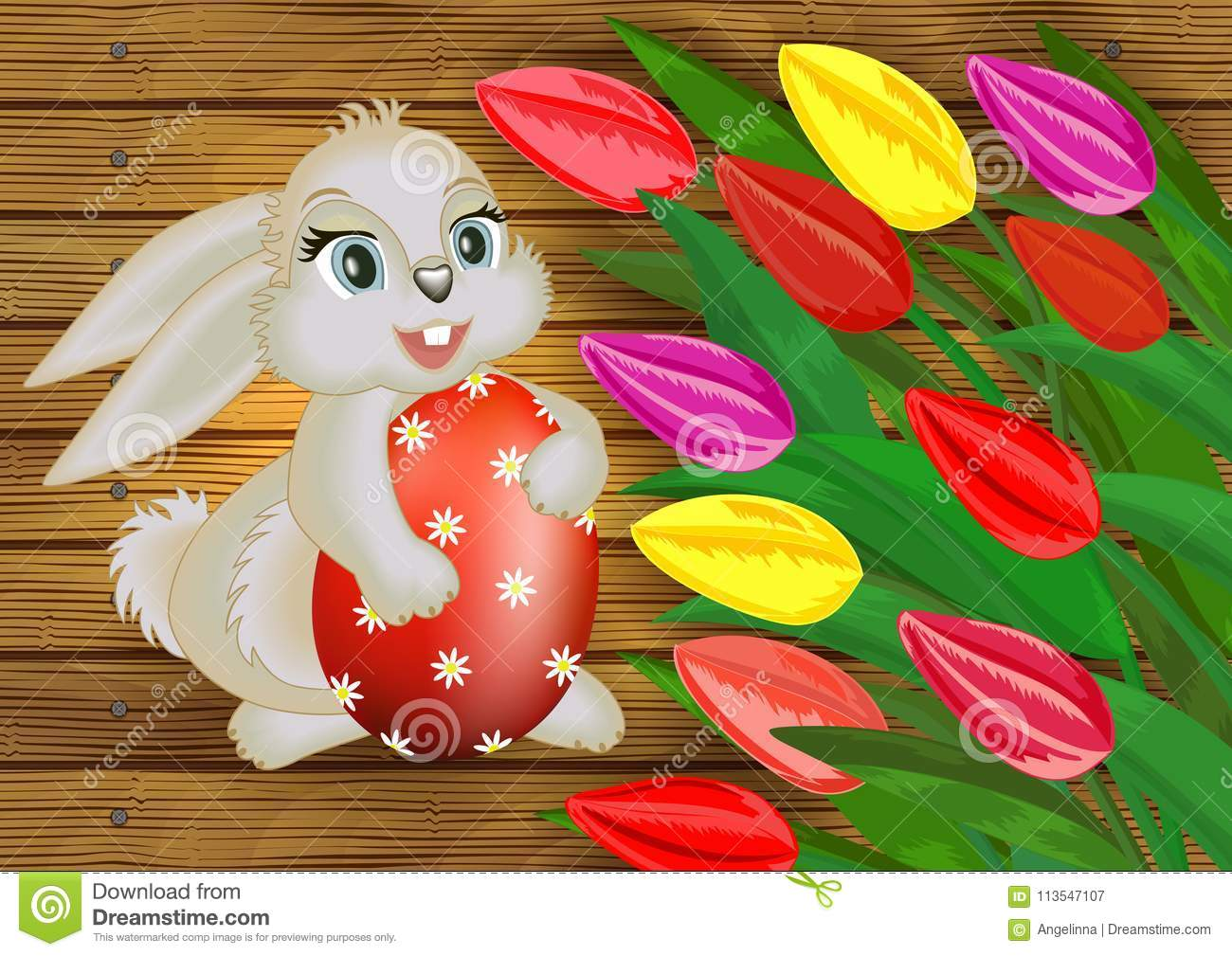 easter card template stock vector illustration of background