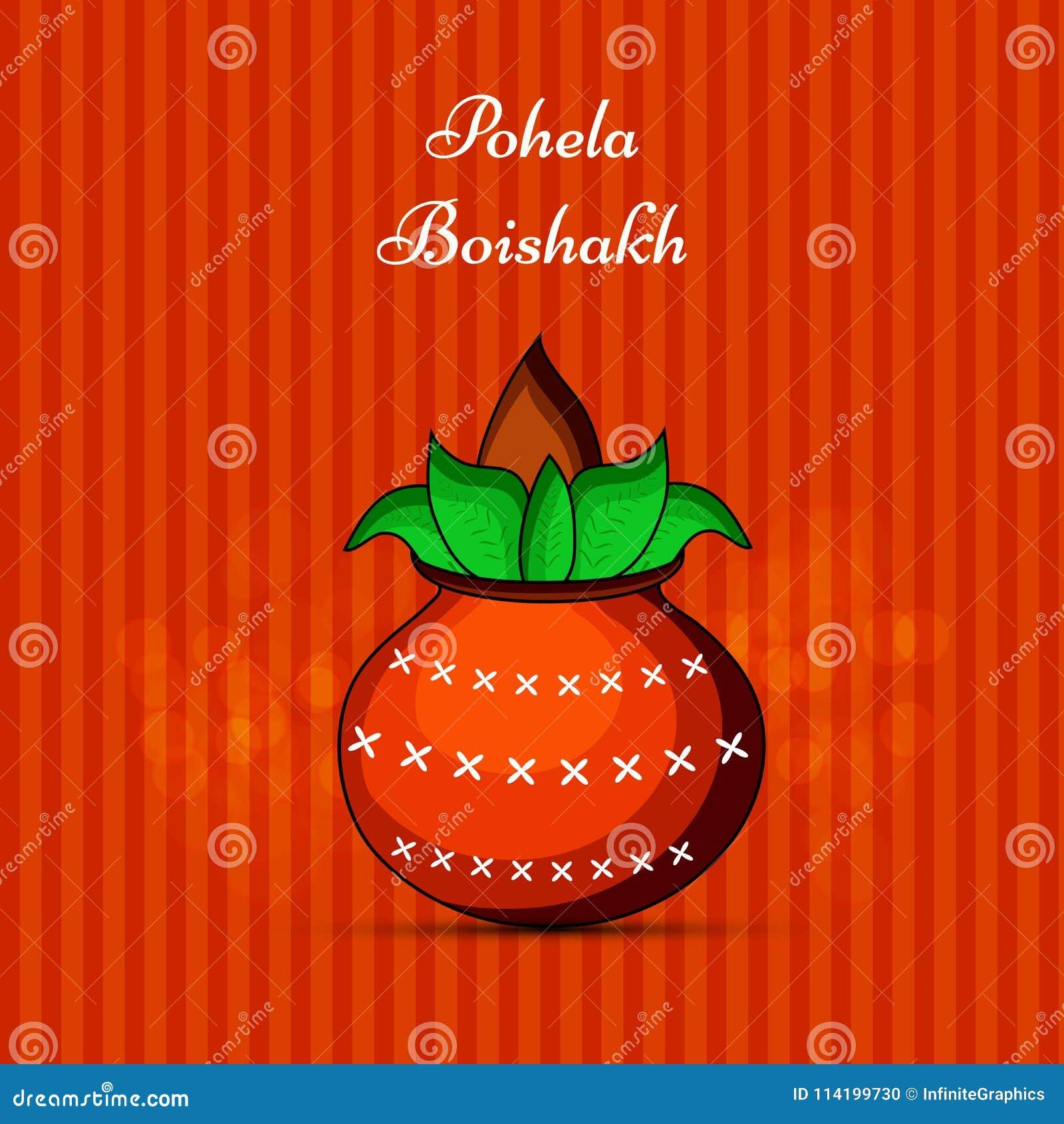 Illustration of indian bengali new year background stock vector download illustration of indian bengali new year background stock vector illustration of greetings pohela m4hsunfo