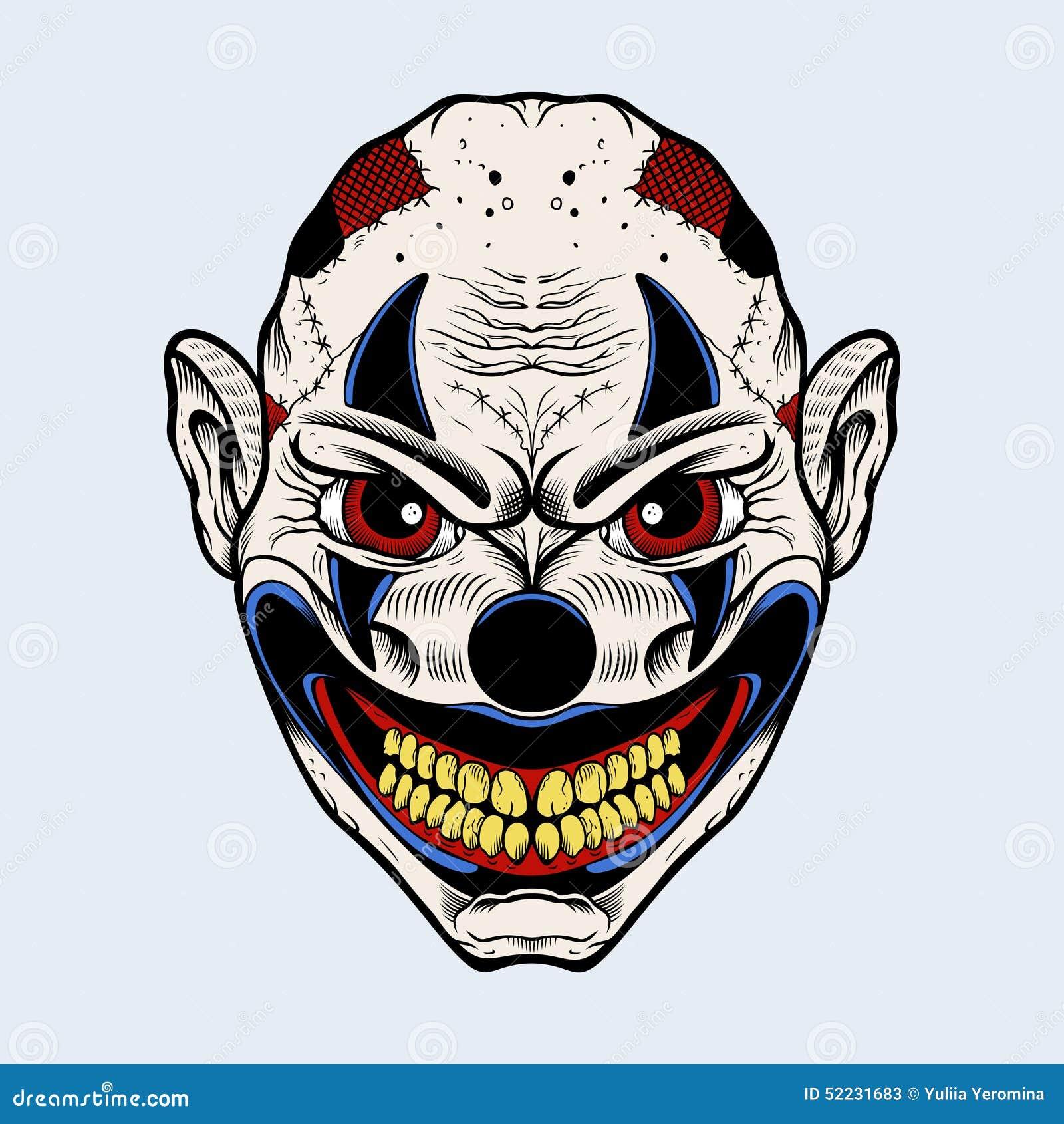 Illustration Of Evil C...
