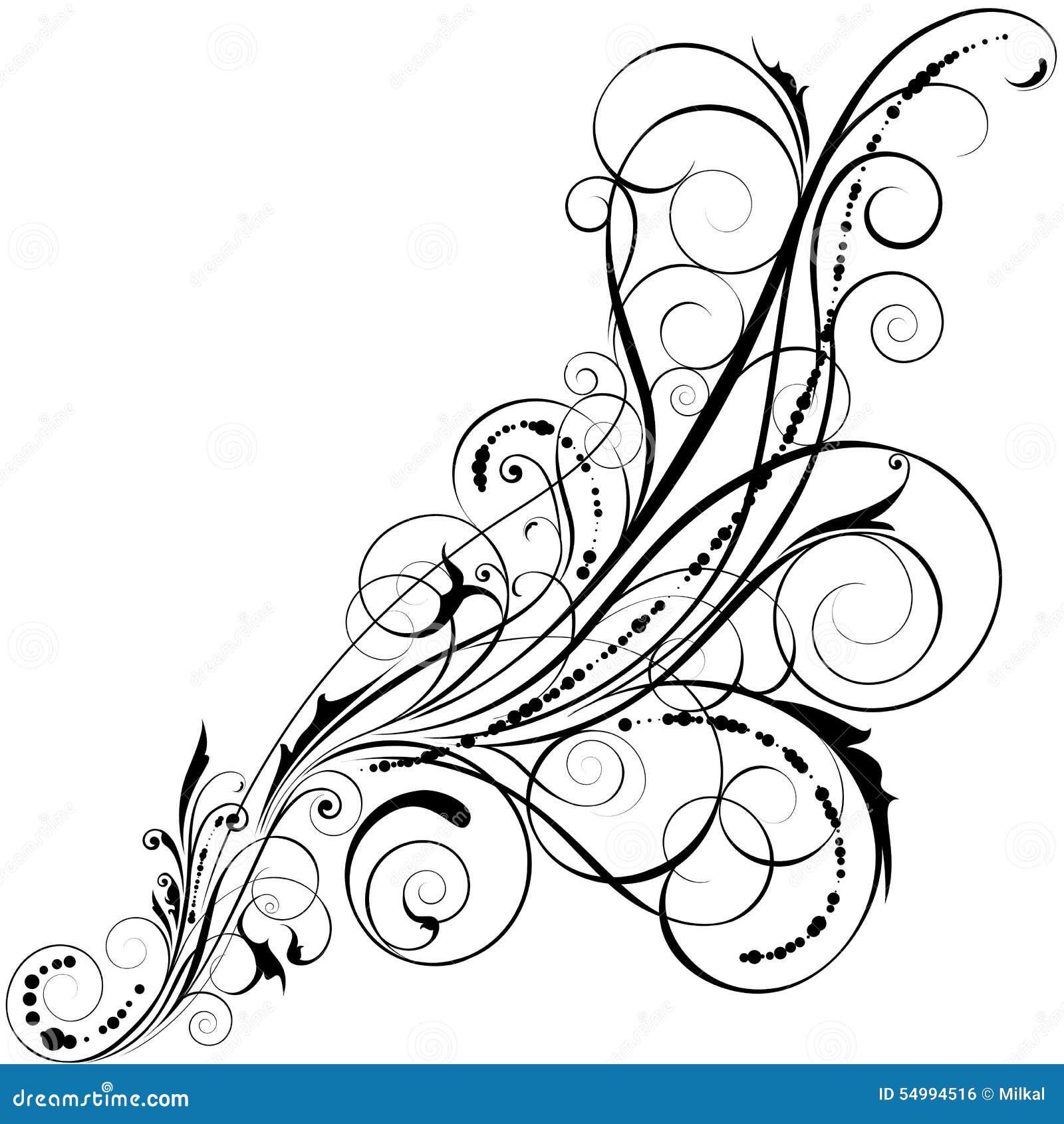 Illustration för design för bakgrundbakgrundskort blom-