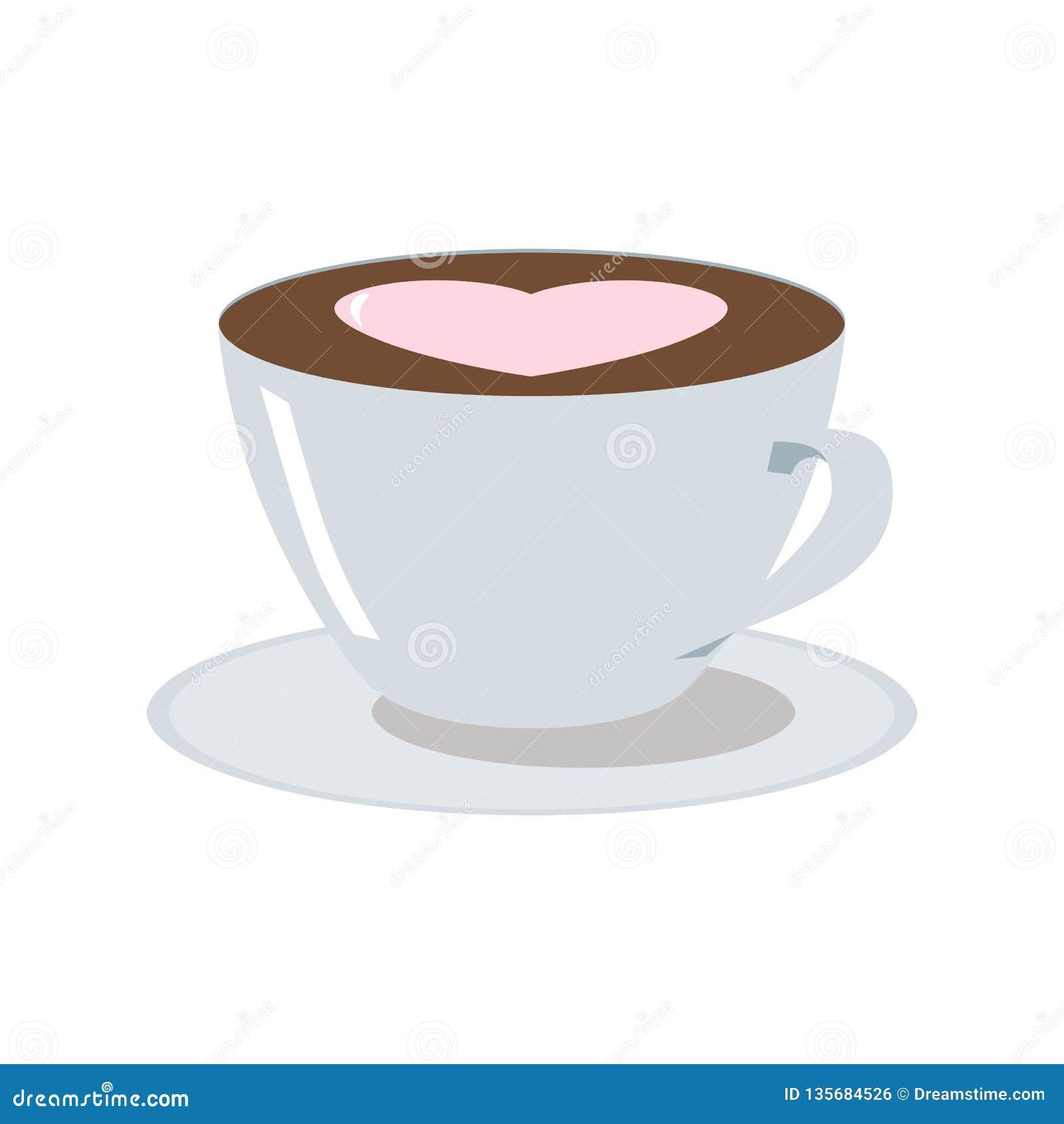 Illustration för kaffekopp