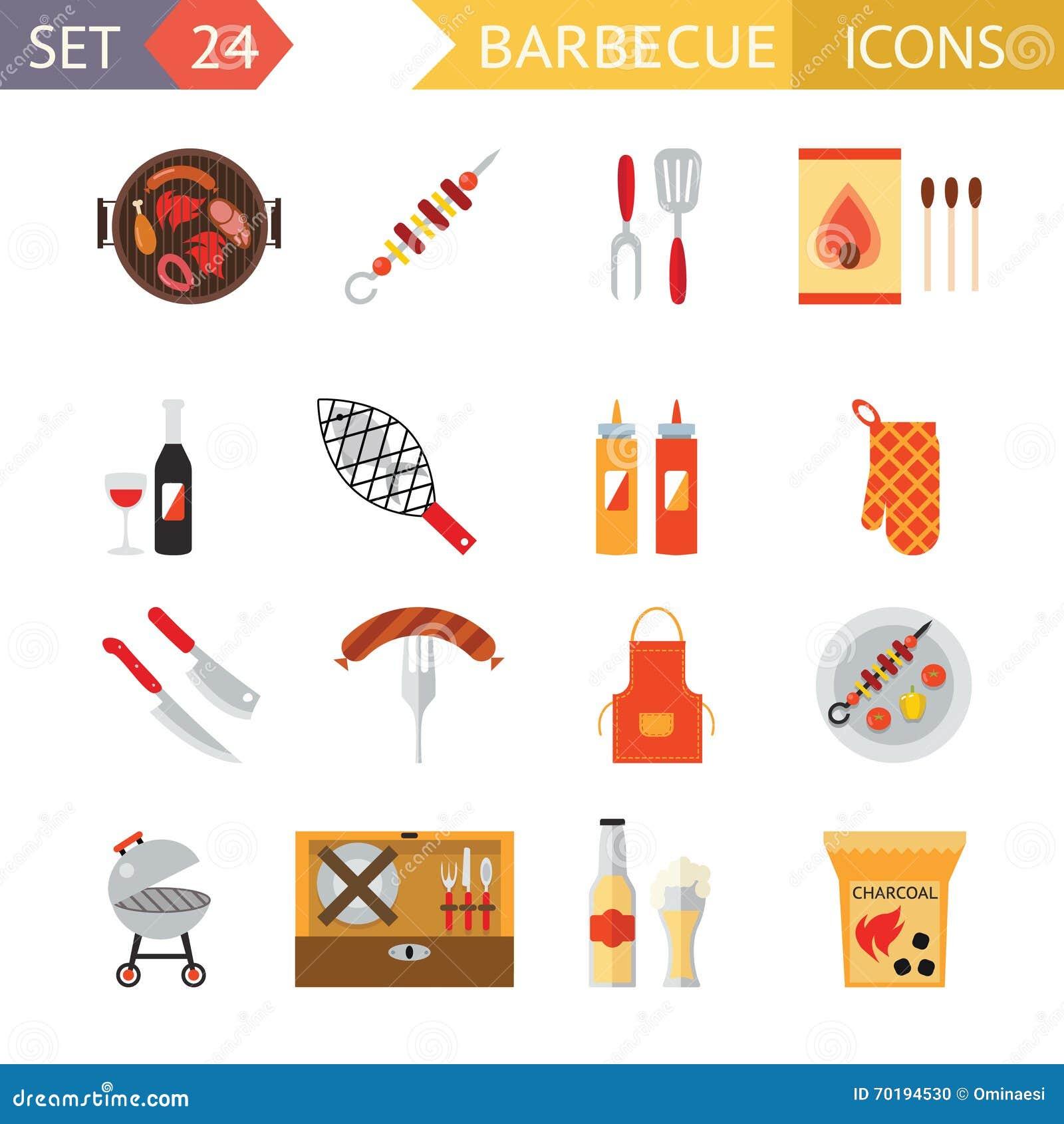 Illustration för mall för design för lägenhet för symbol för symboler för mat för picknick för sommar för matställe för familj fö